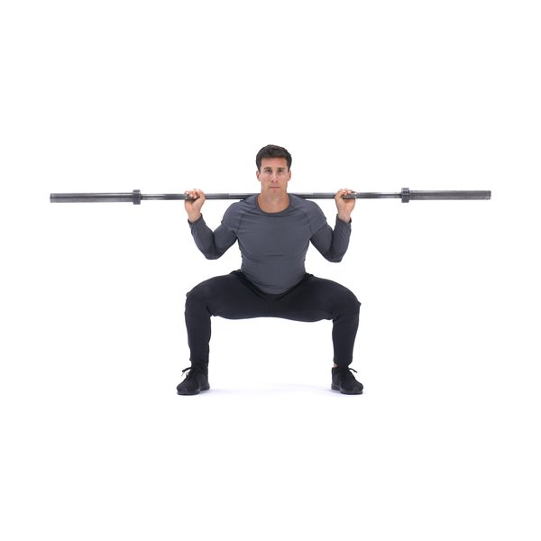 Barbell speed squat thumbnail image
