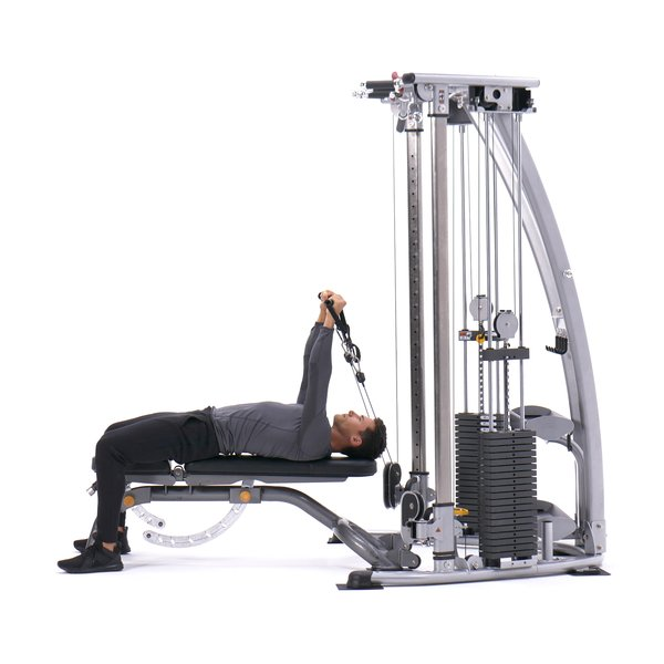 Lying cable triceps extension thumbnail image