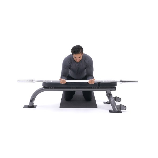 Palms-up wrist curl over bench thumbnail image
