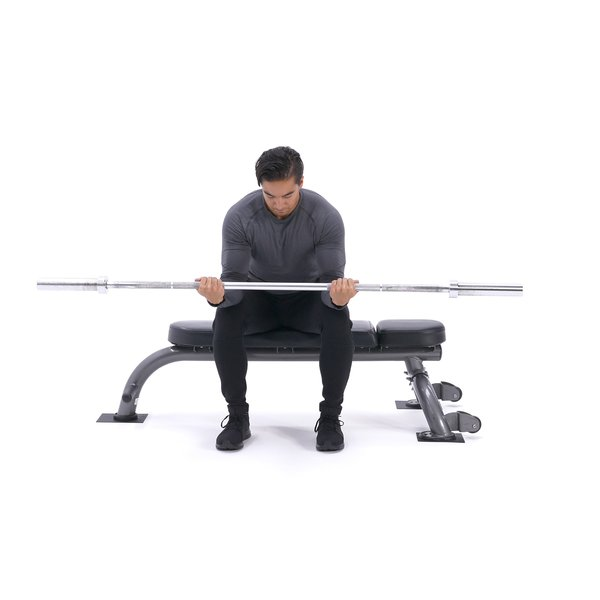 Seated palms-up wrist curl thumbnail image