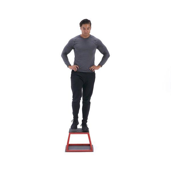 Single-leg depth squat thumbnail image