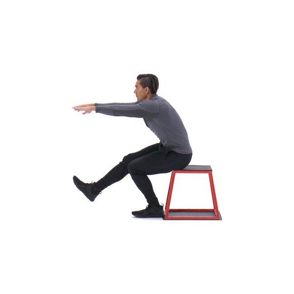 Single-leg box squat thumbnail image