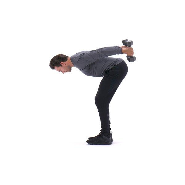 Double-arm triceps kick-back thumbnail image