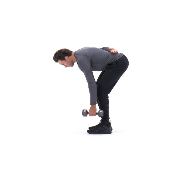 Standing Bent-Over One-Arm Dumbbell Triceps Extension thumbnail image
