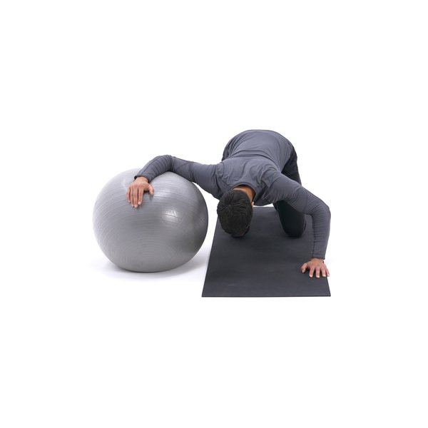 Exercise ball chest stretch thumbnail image