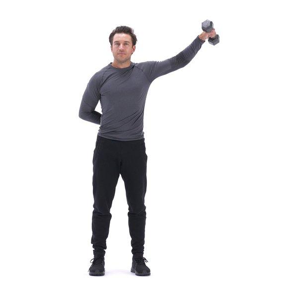 Single-arm lateral raise thumbnail image