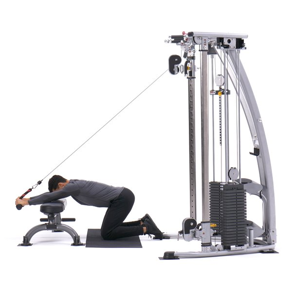 Kneeling cable triceps extension thumbnail image