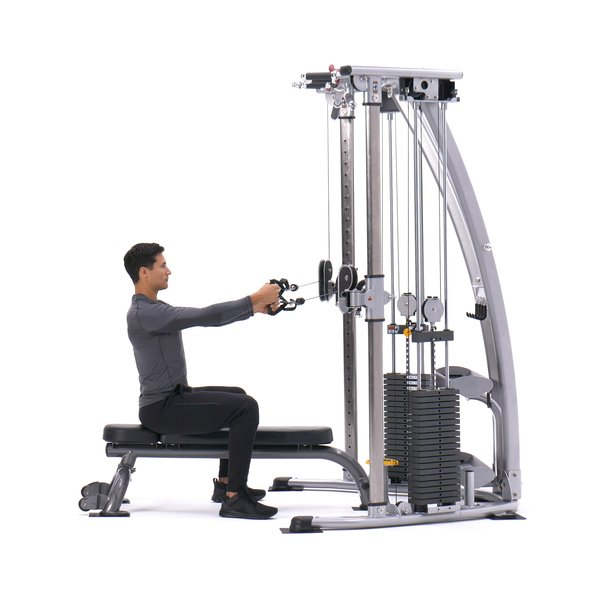 Cable Seated Lateral Raise thumbnail image