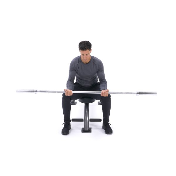 Seated finger curl thumbnail image