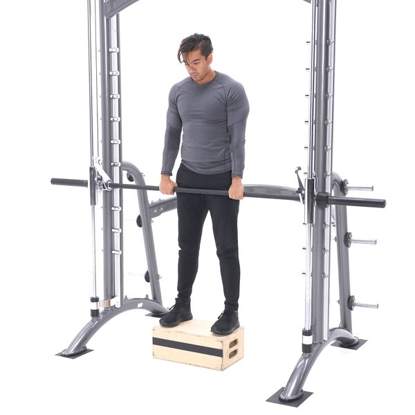 Smith machine stiff-legged deadlift thumbnail image