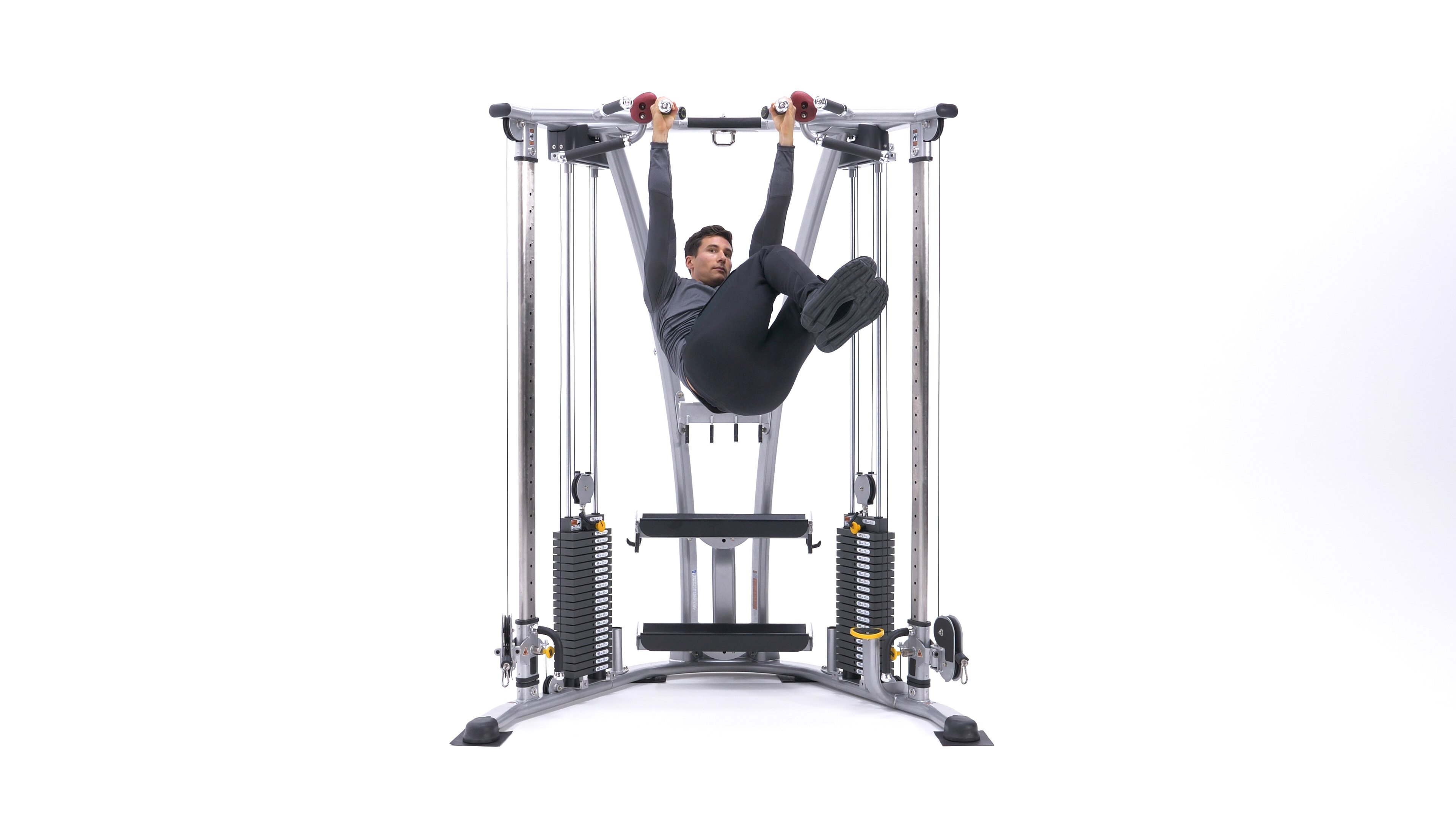 Hanging Oblique Knee Raise image