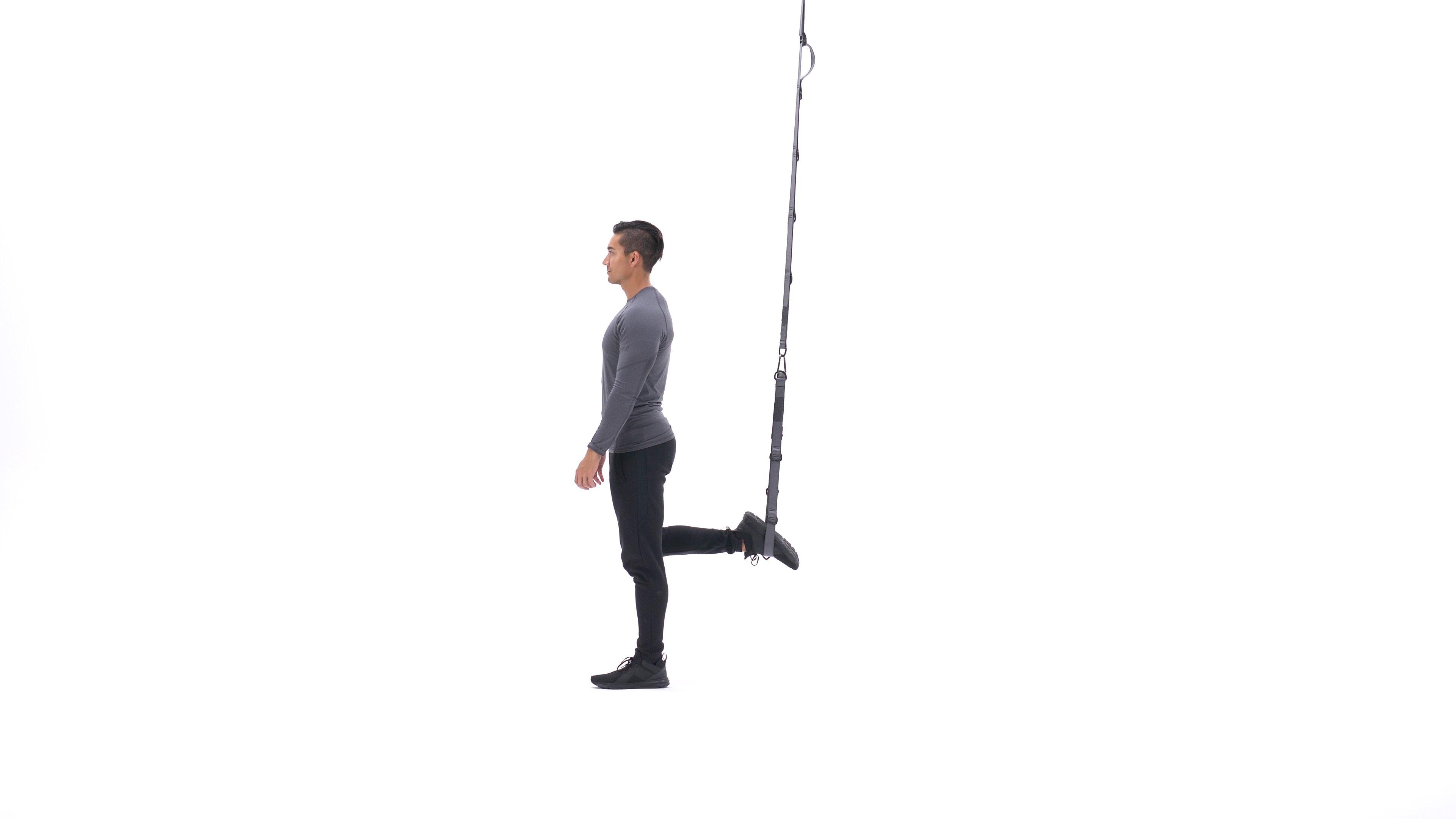 Suspended split squat image