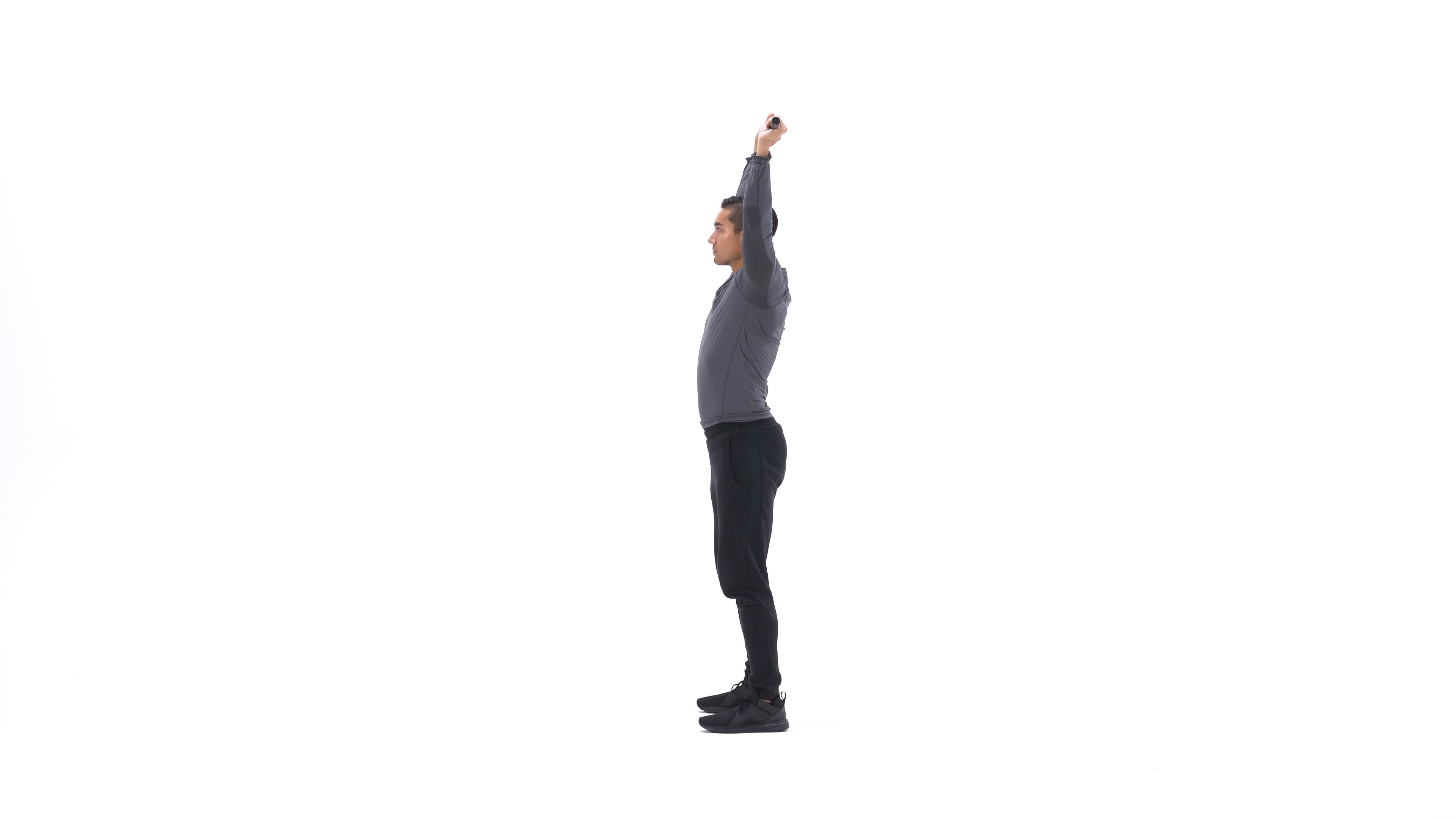 Bar shoulder extension stretch image
