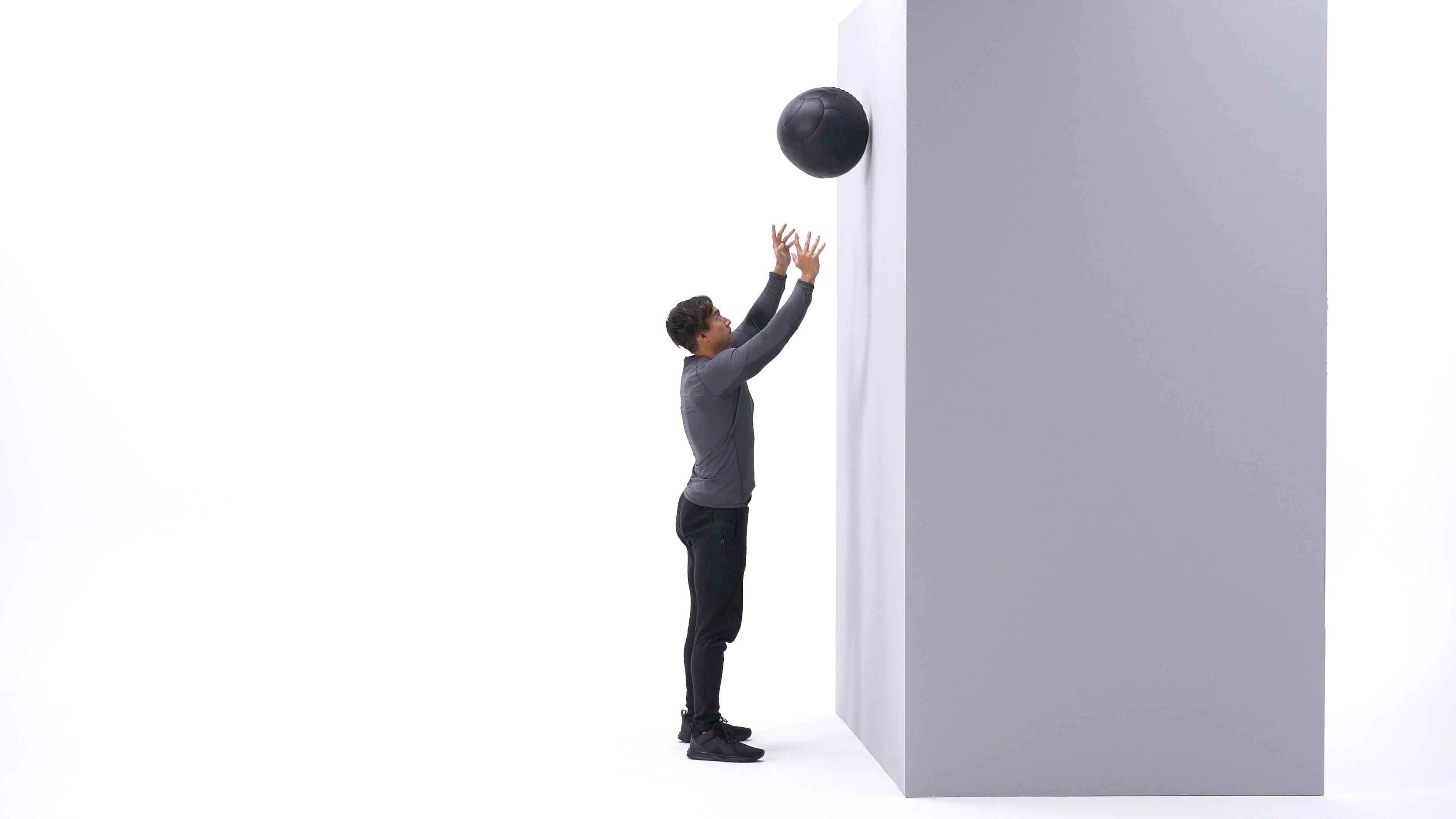 Wall ball toss image