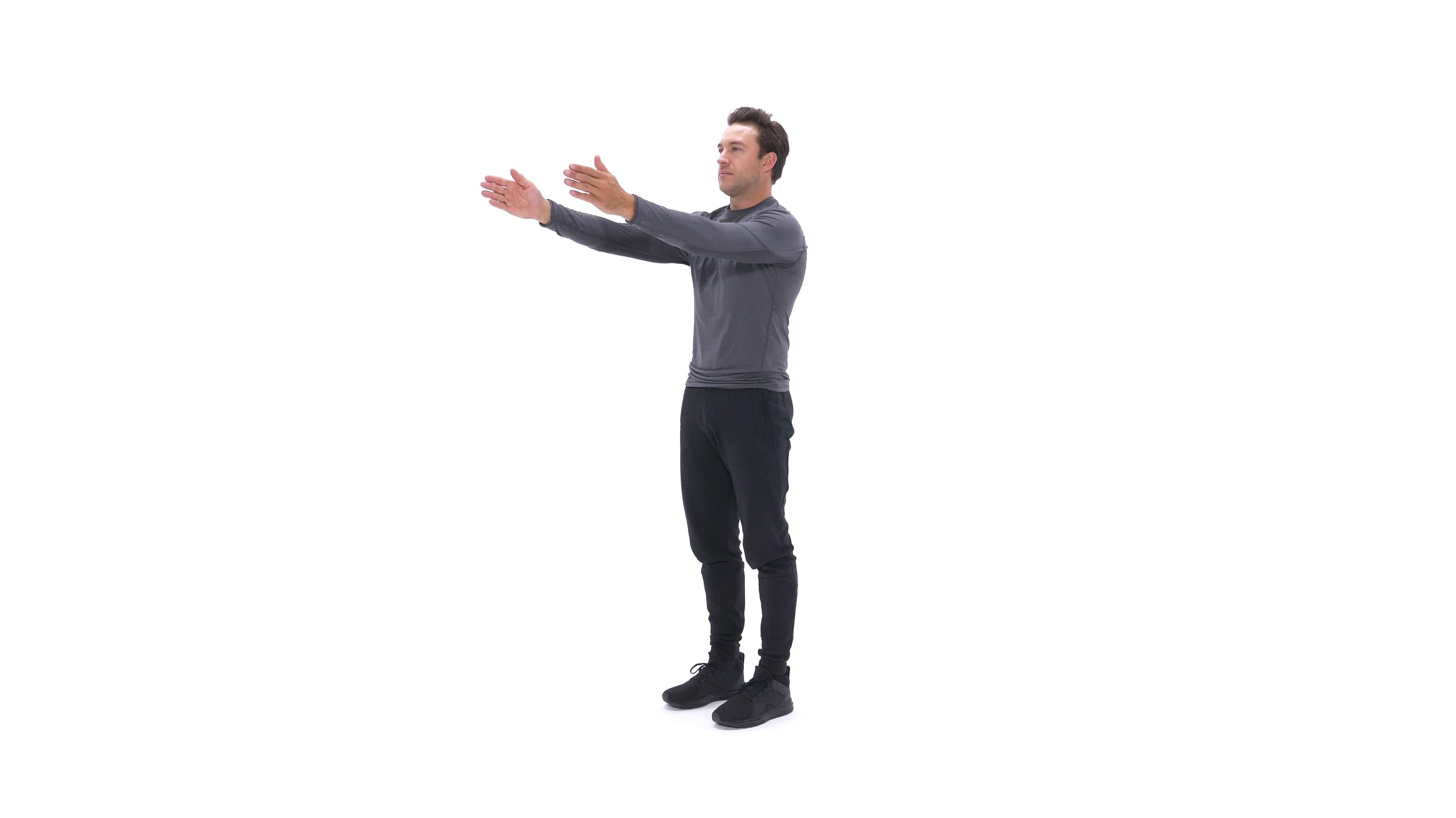 Dynamic chest stretch image