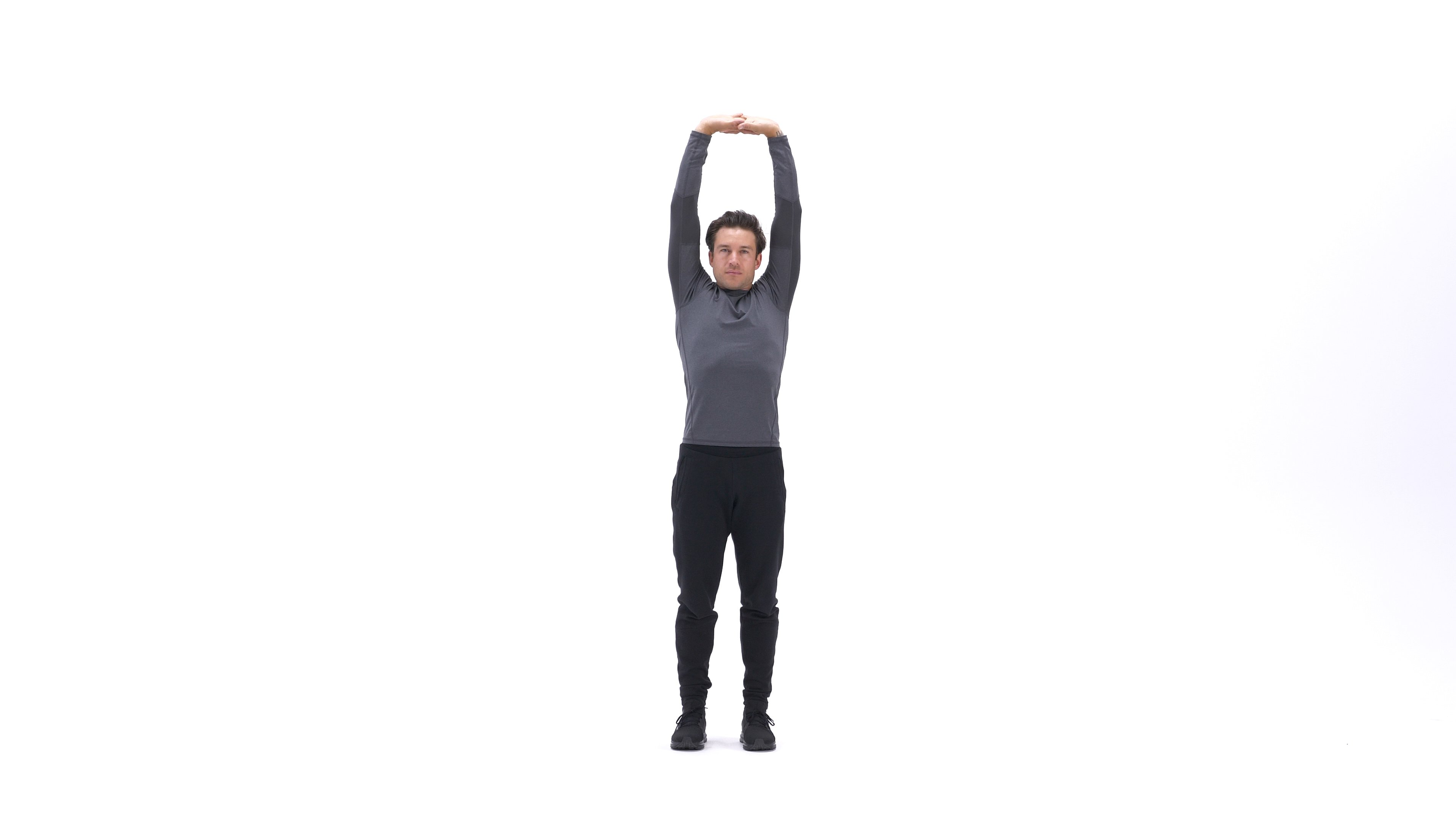 Standing side bend stretch image