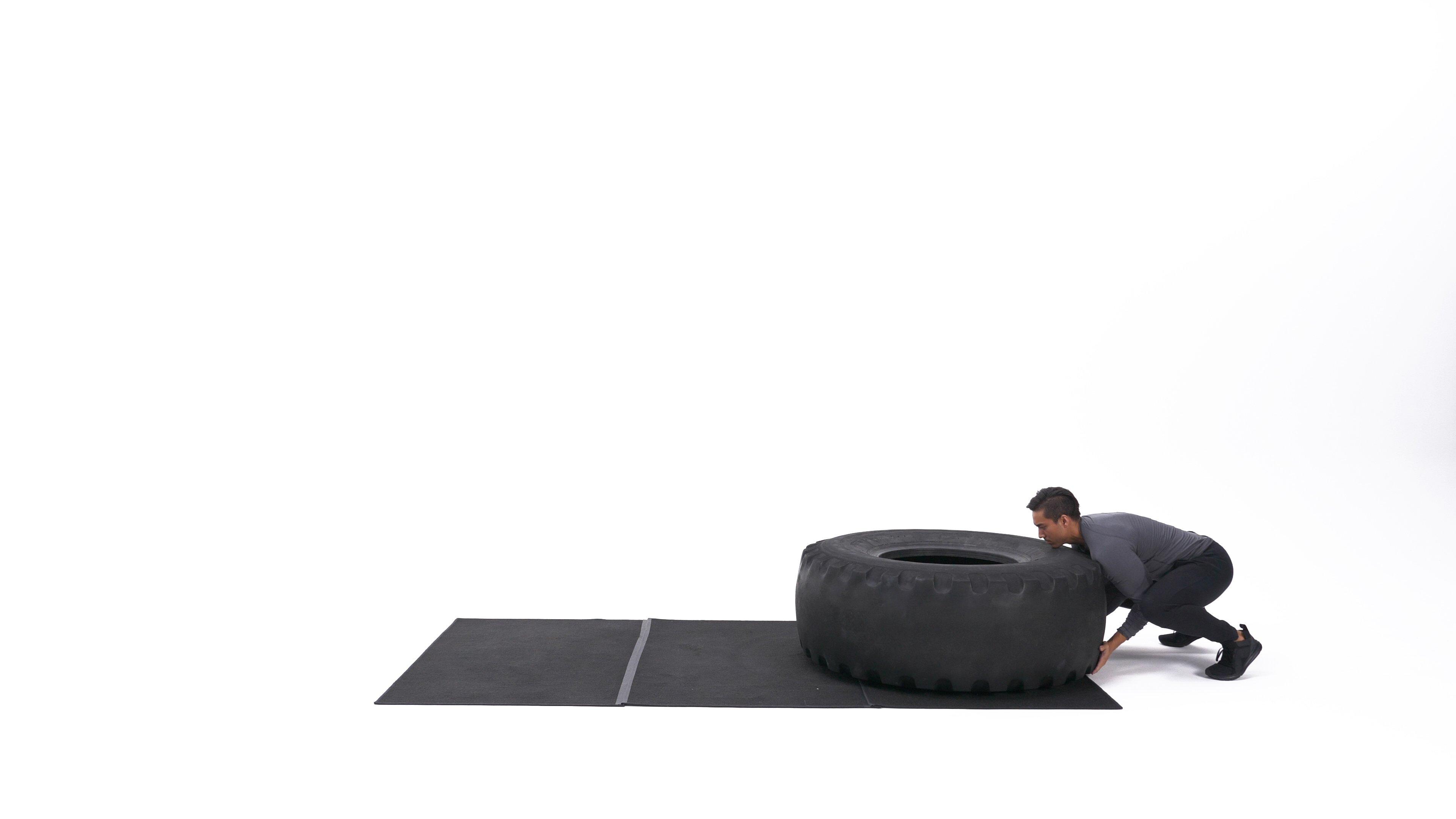 Tire flip image