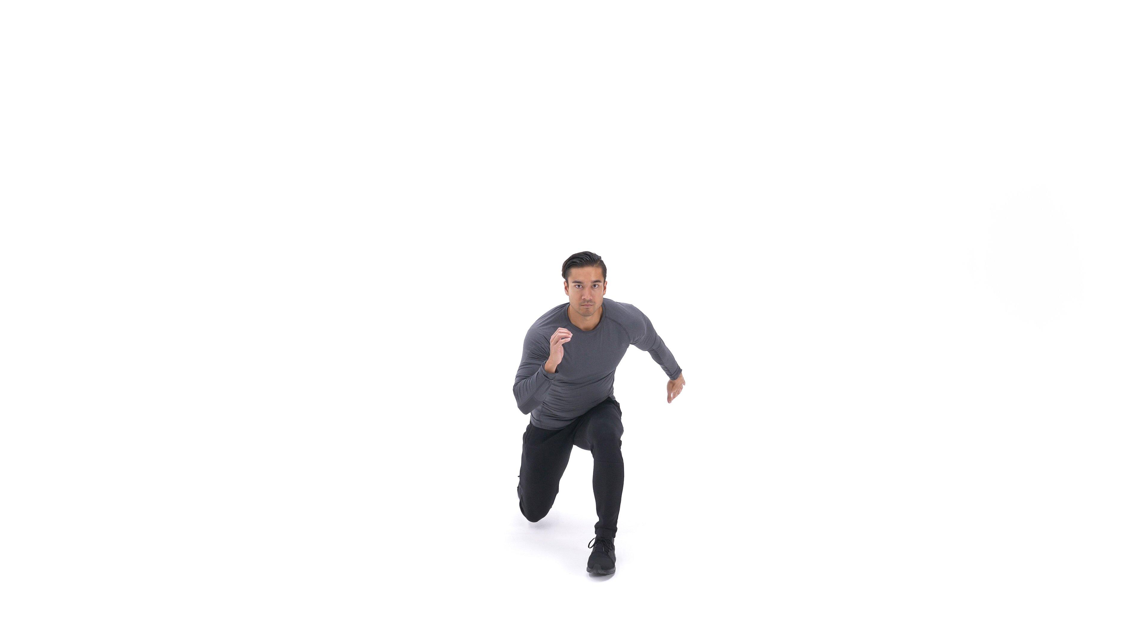 Lunge Heel Kick image