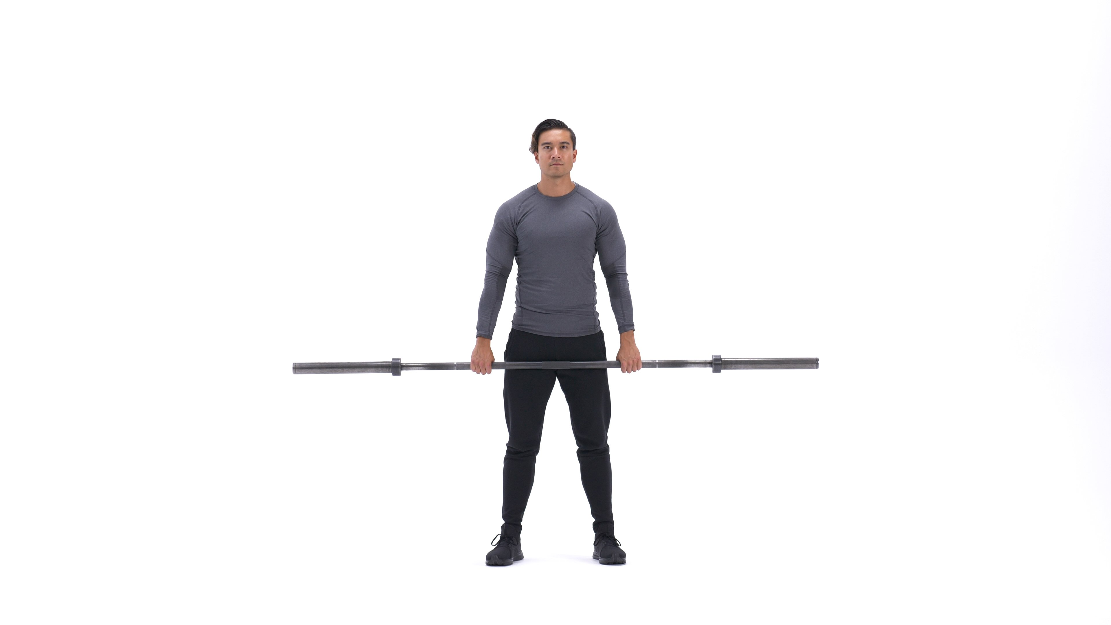 Barbell shrug image