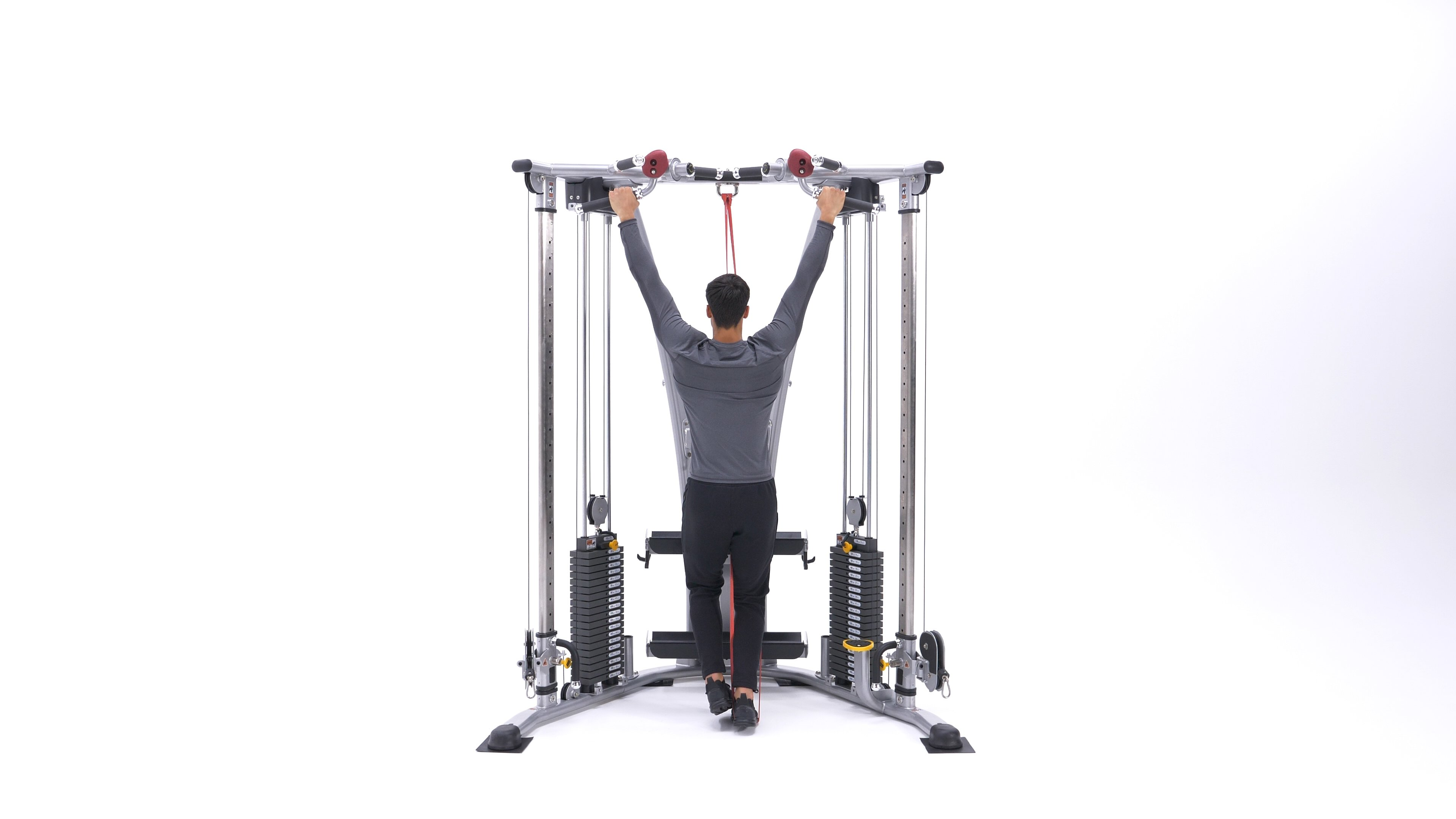 Band-assisted pull-up image