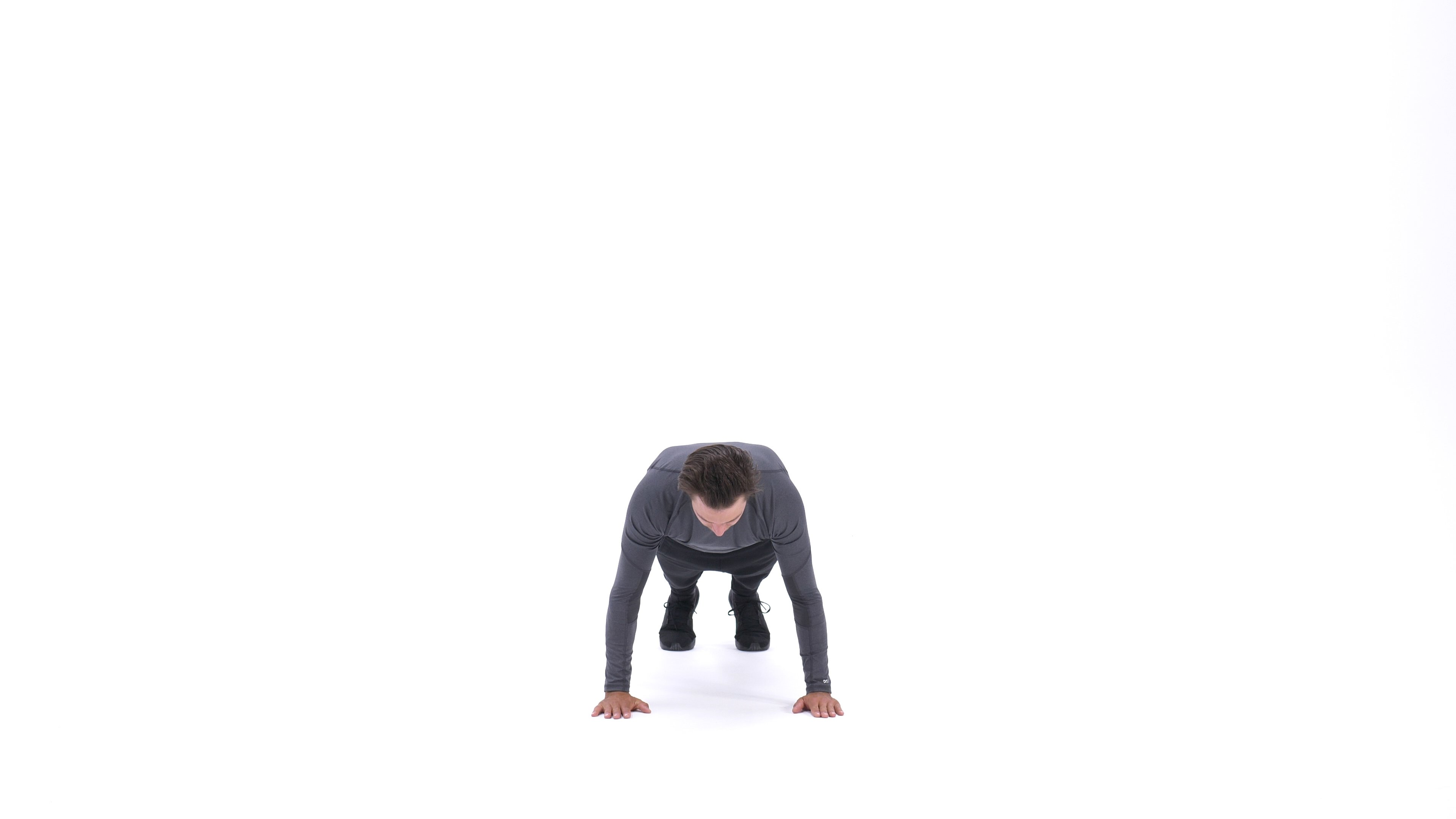 Close-Hands Push-Up image