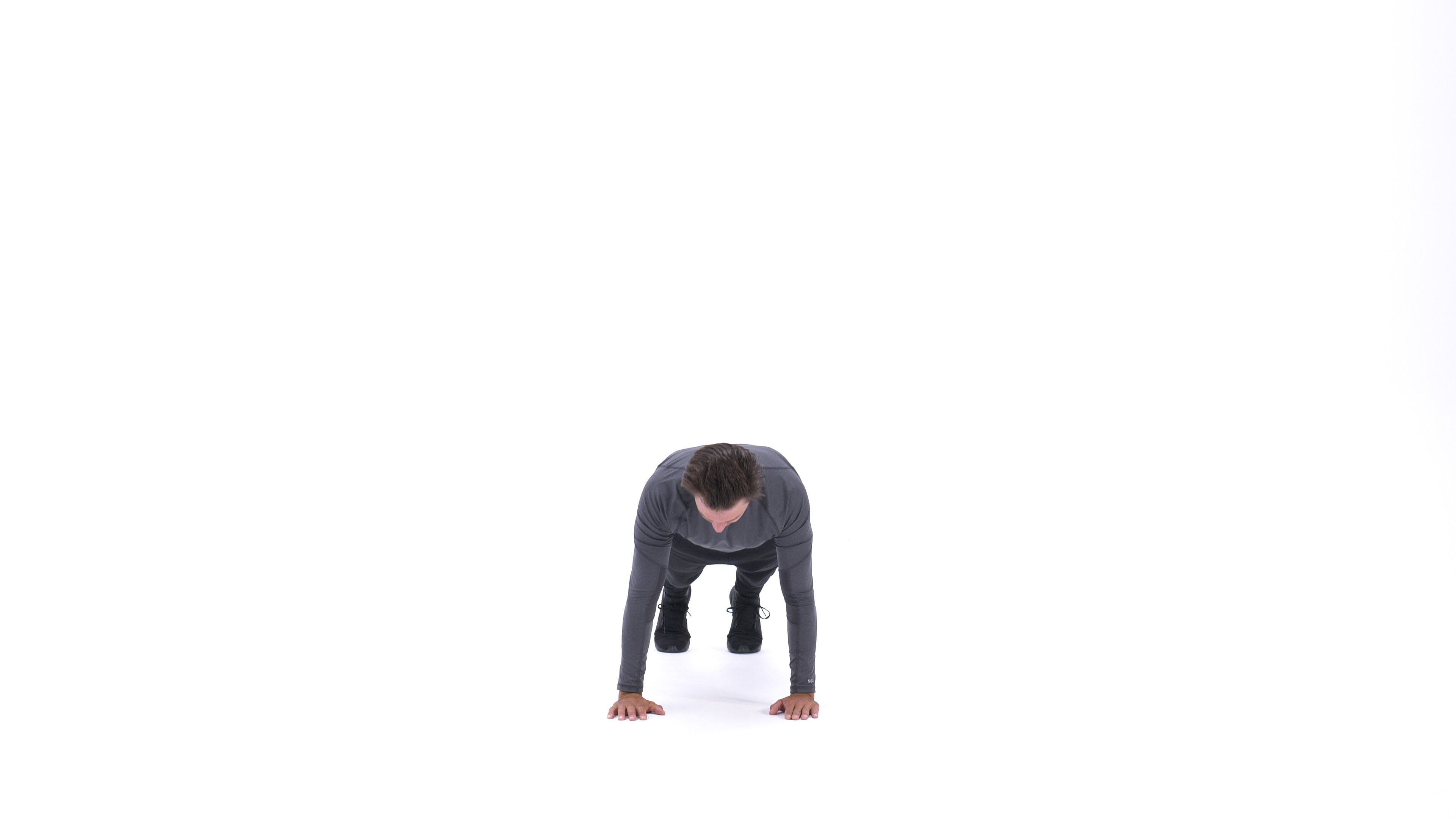 Close push-up to wide push-up image