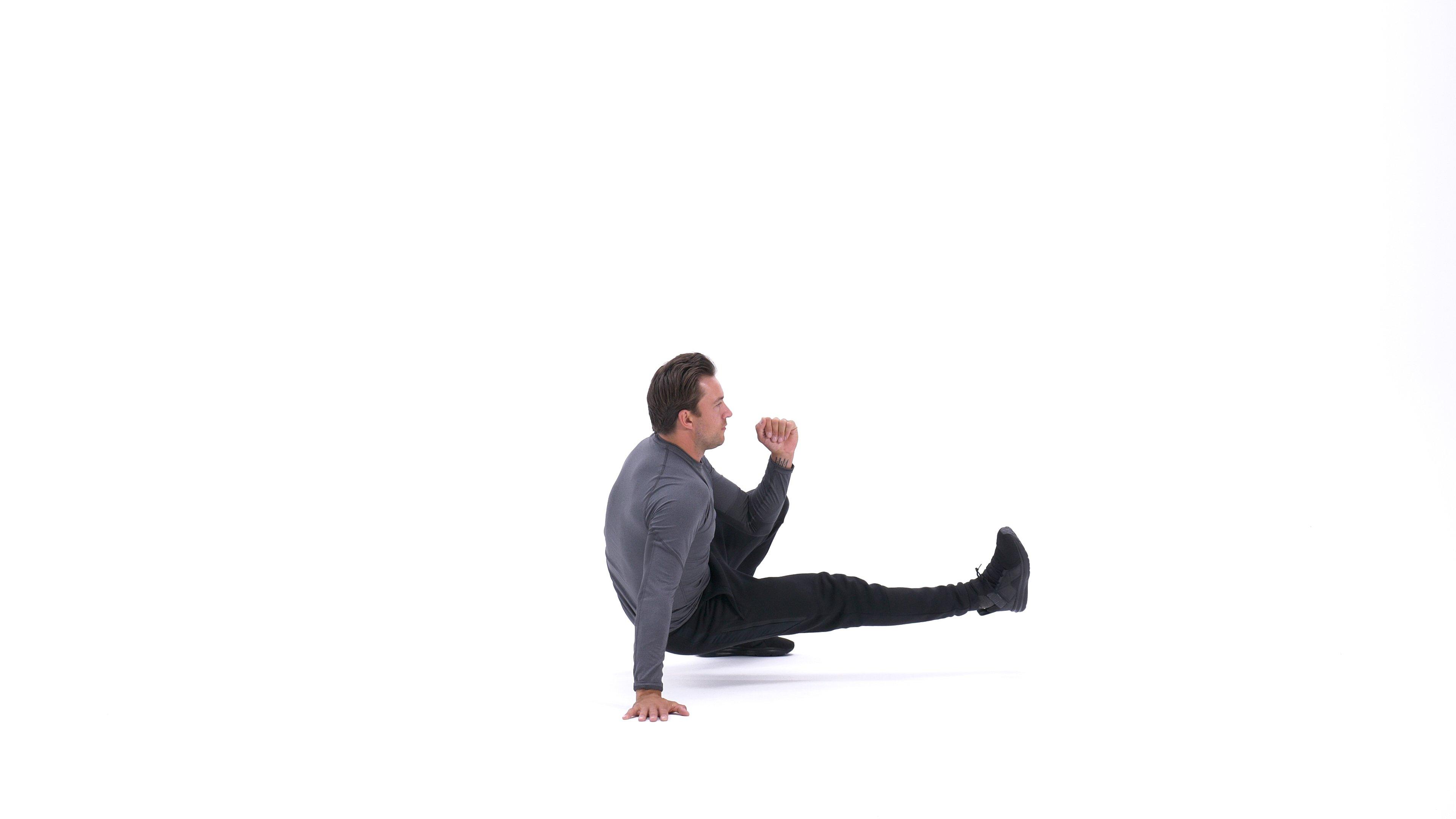 Side kick-through image