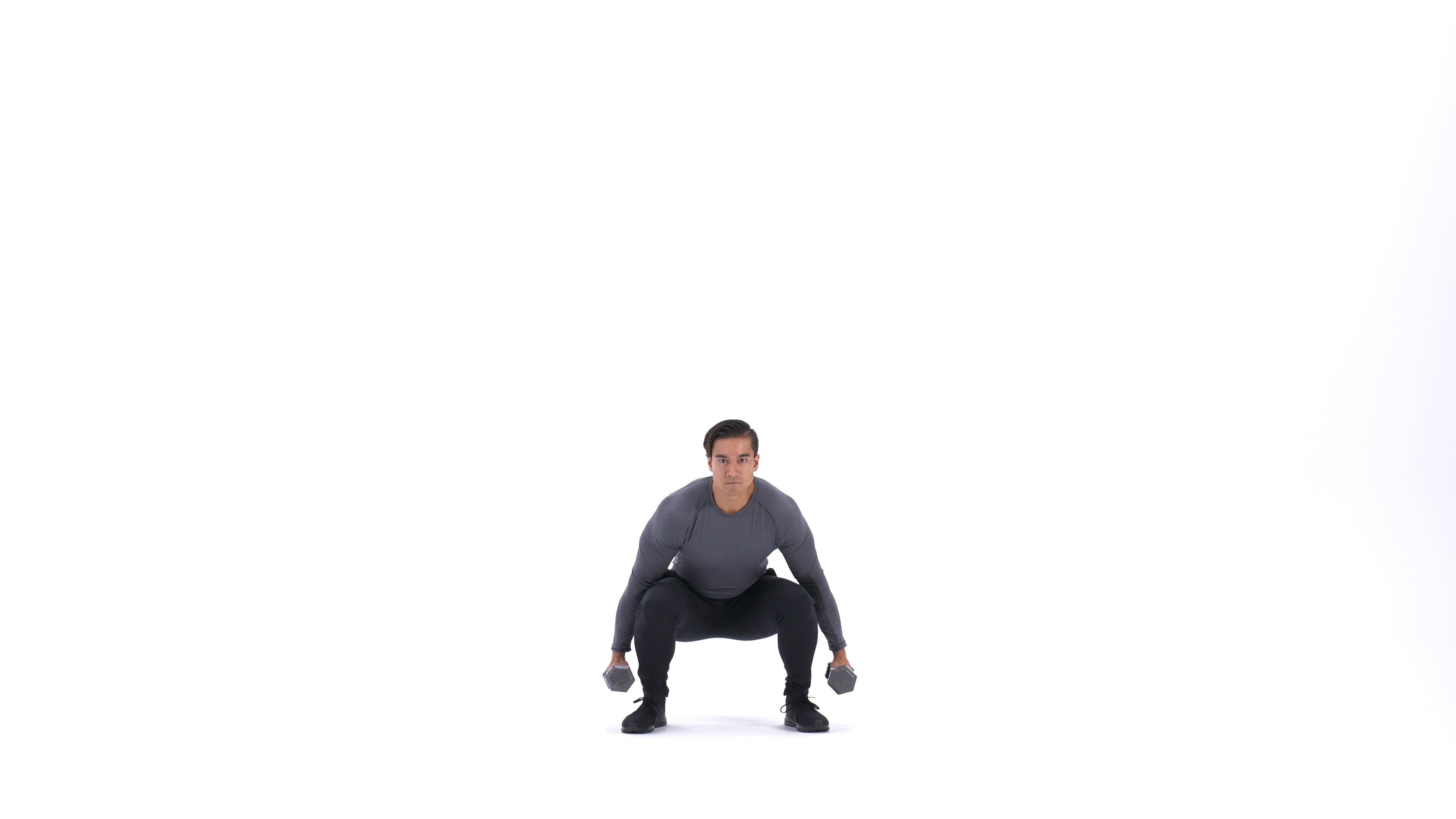 Dumbbell jump squat image