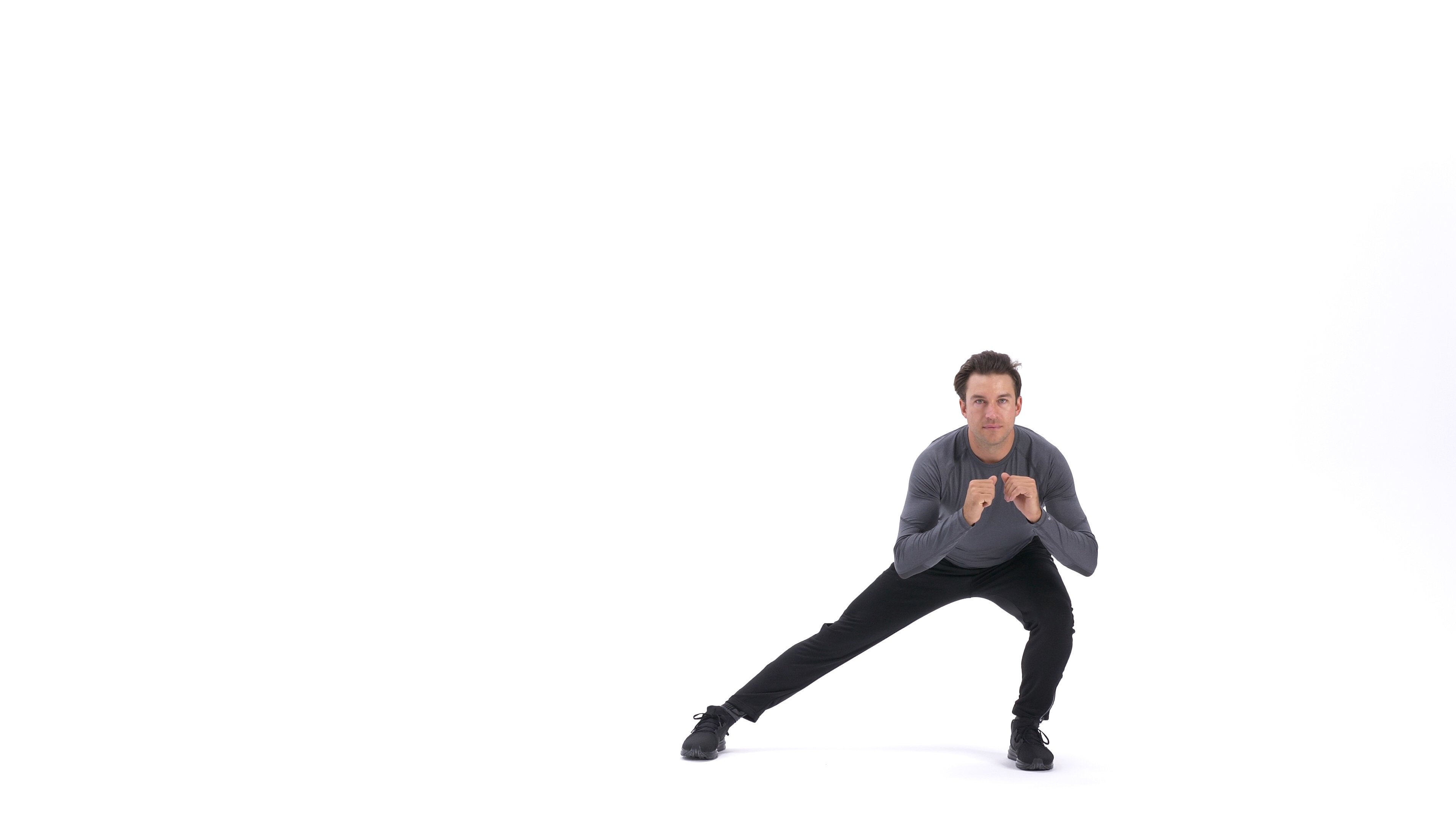 Lateral lunge image