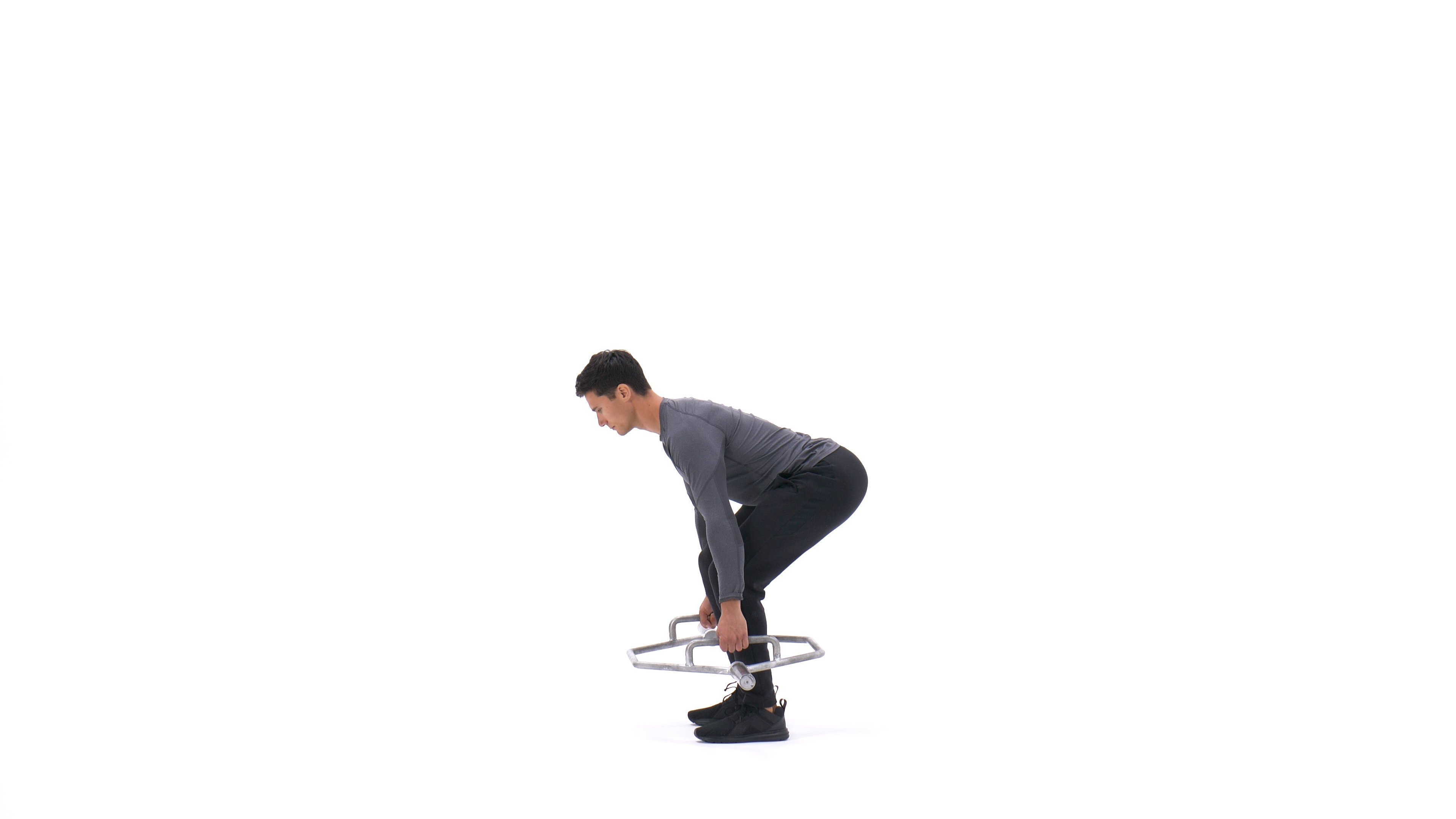Hex-bar deadlift image