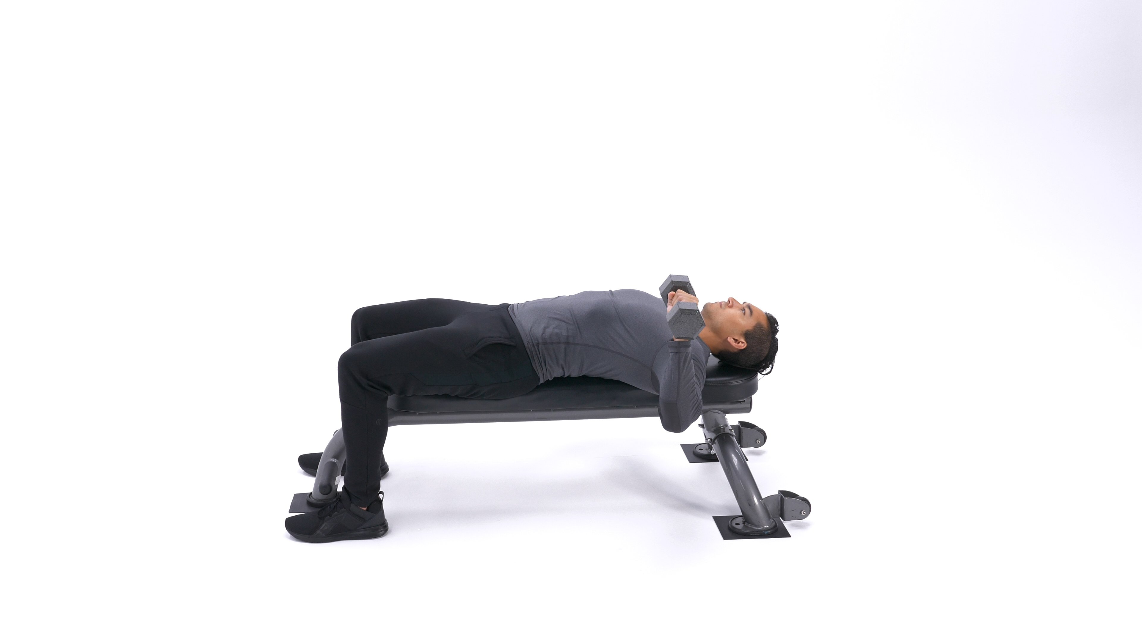 One Arm Dumbbell Bench Press image