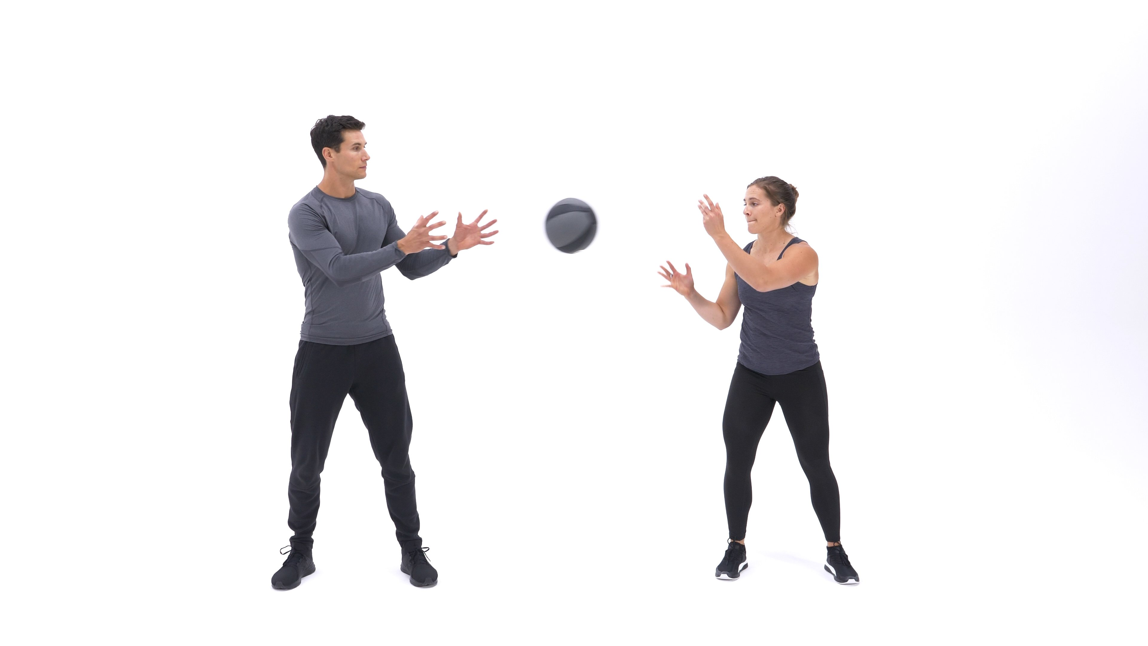Medicine ball rotational throw image