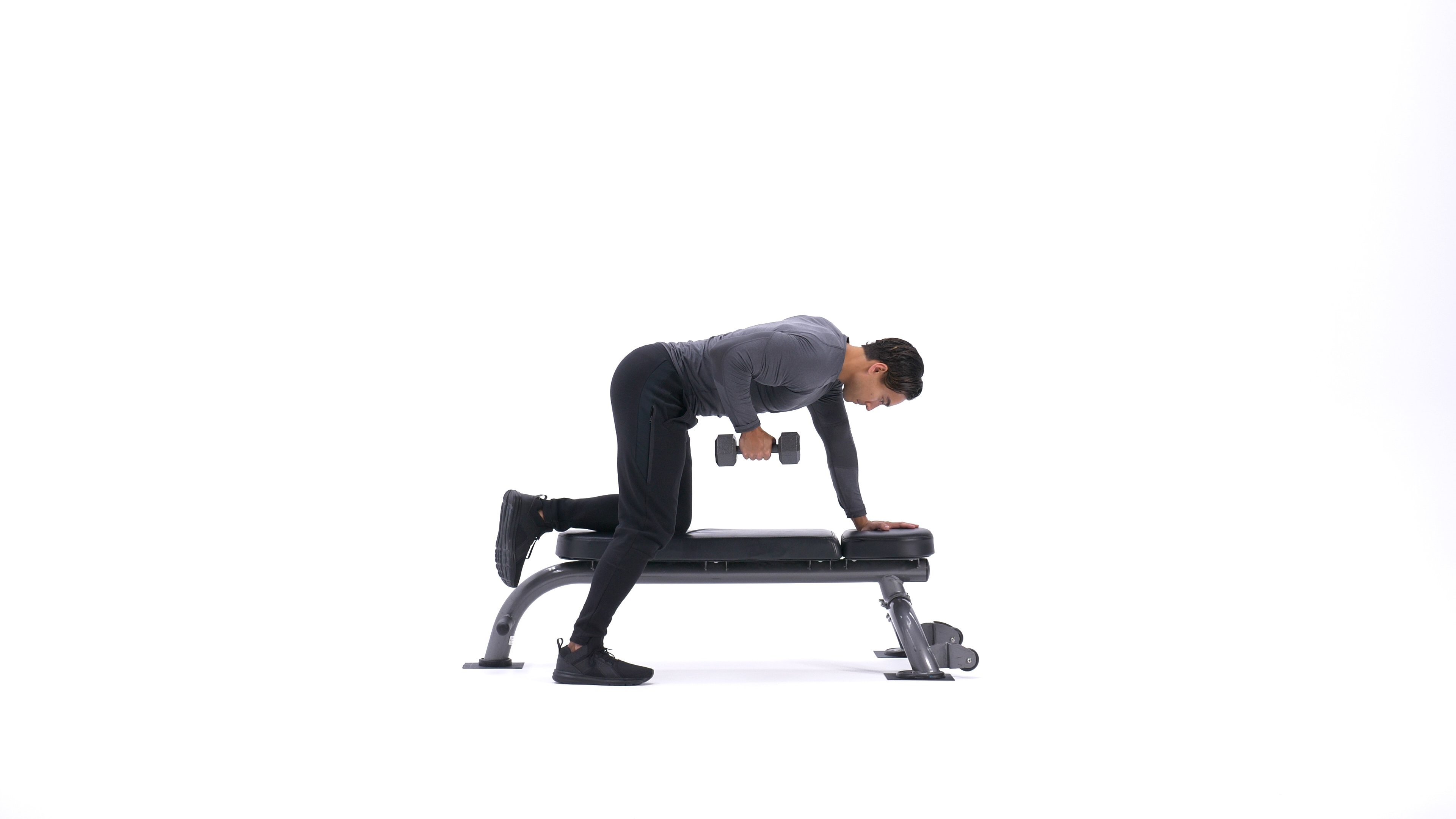 One-Arm Dumbbell Row image