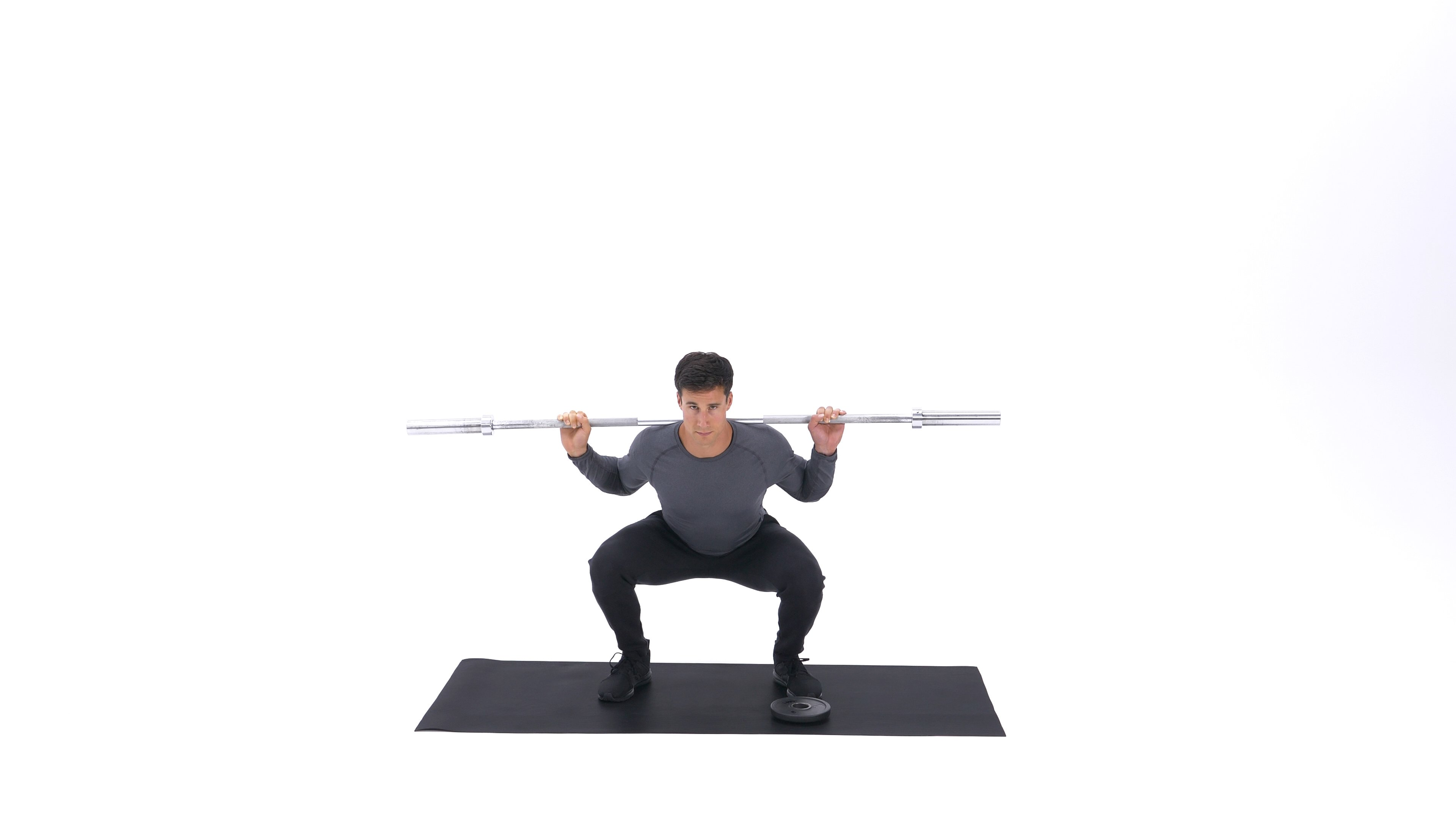 Squat with Plate Movers image
