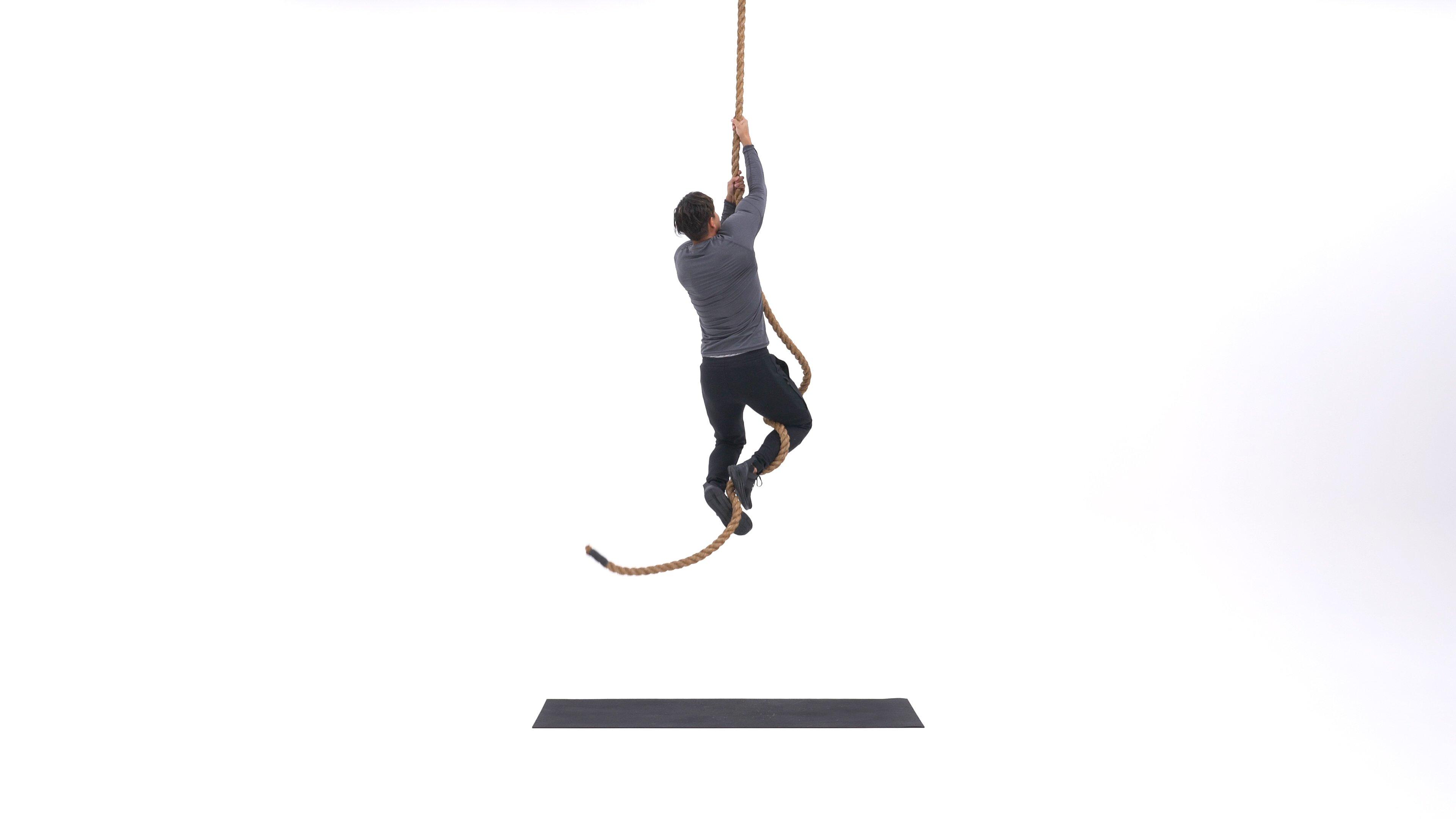 Rope climb image