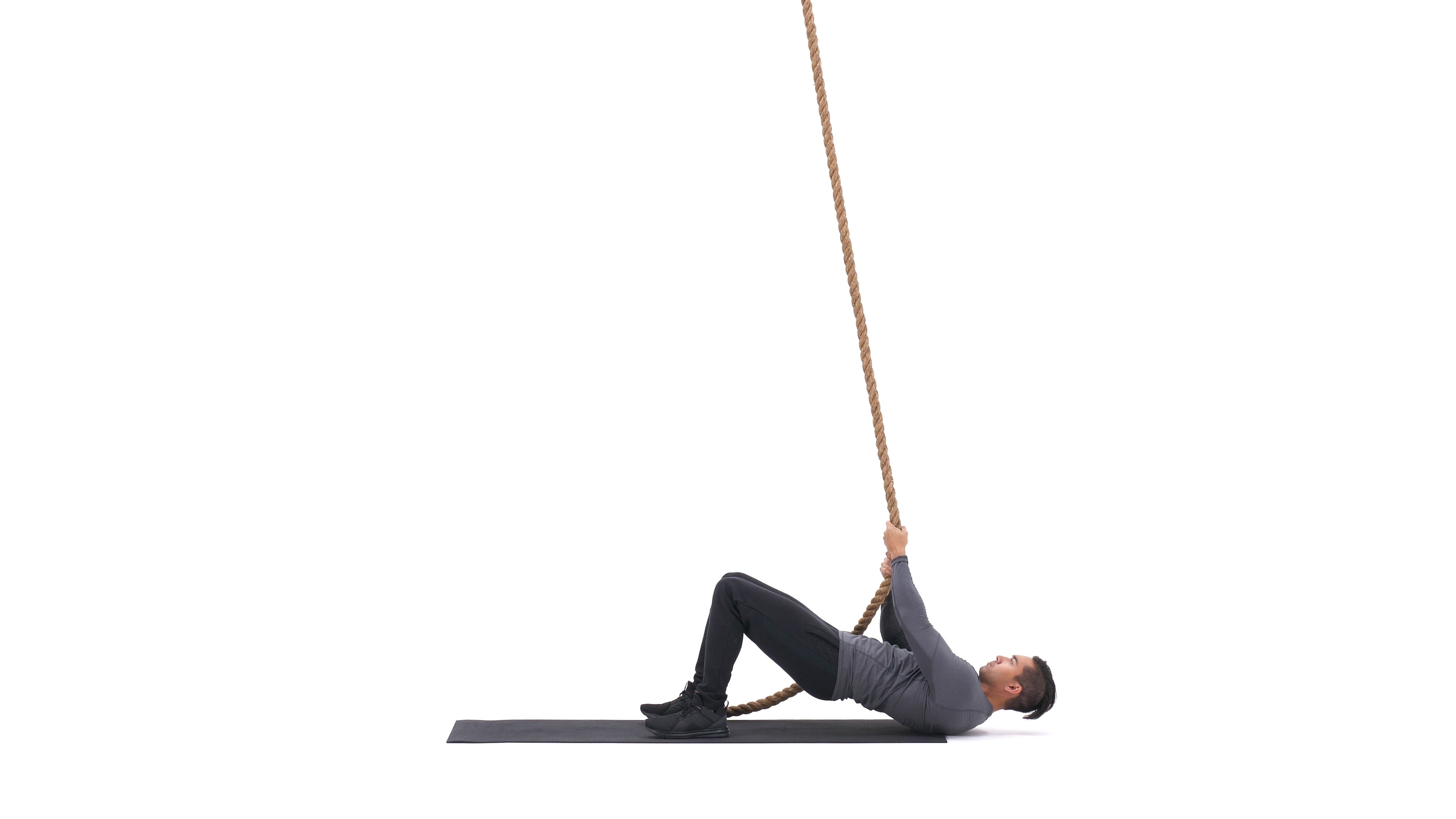 Floor rope climb image