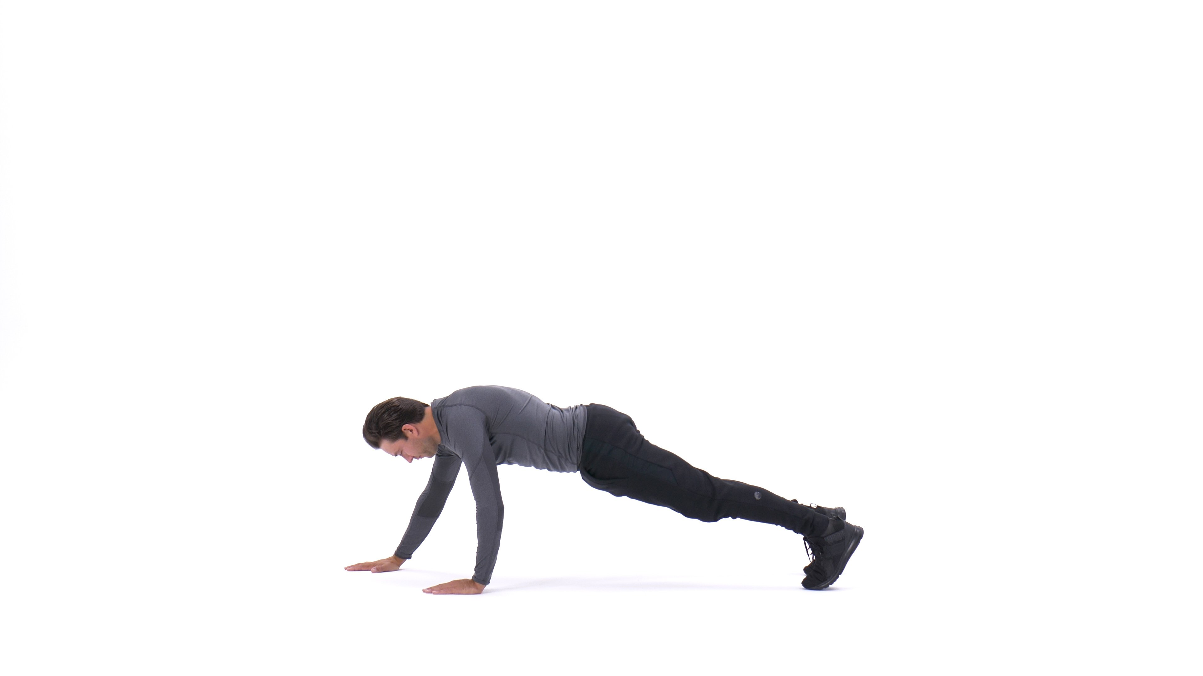 Staggered push-up image