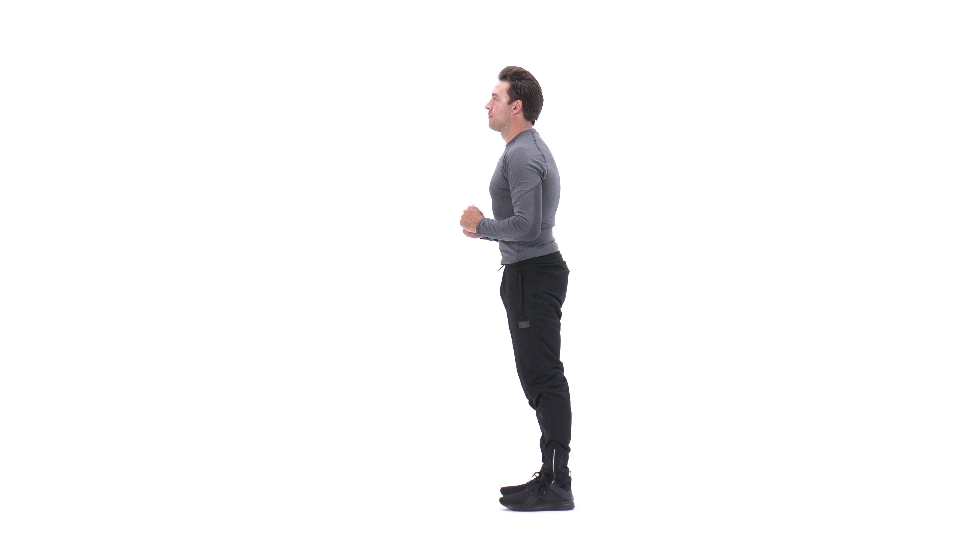 Forward lunge image
