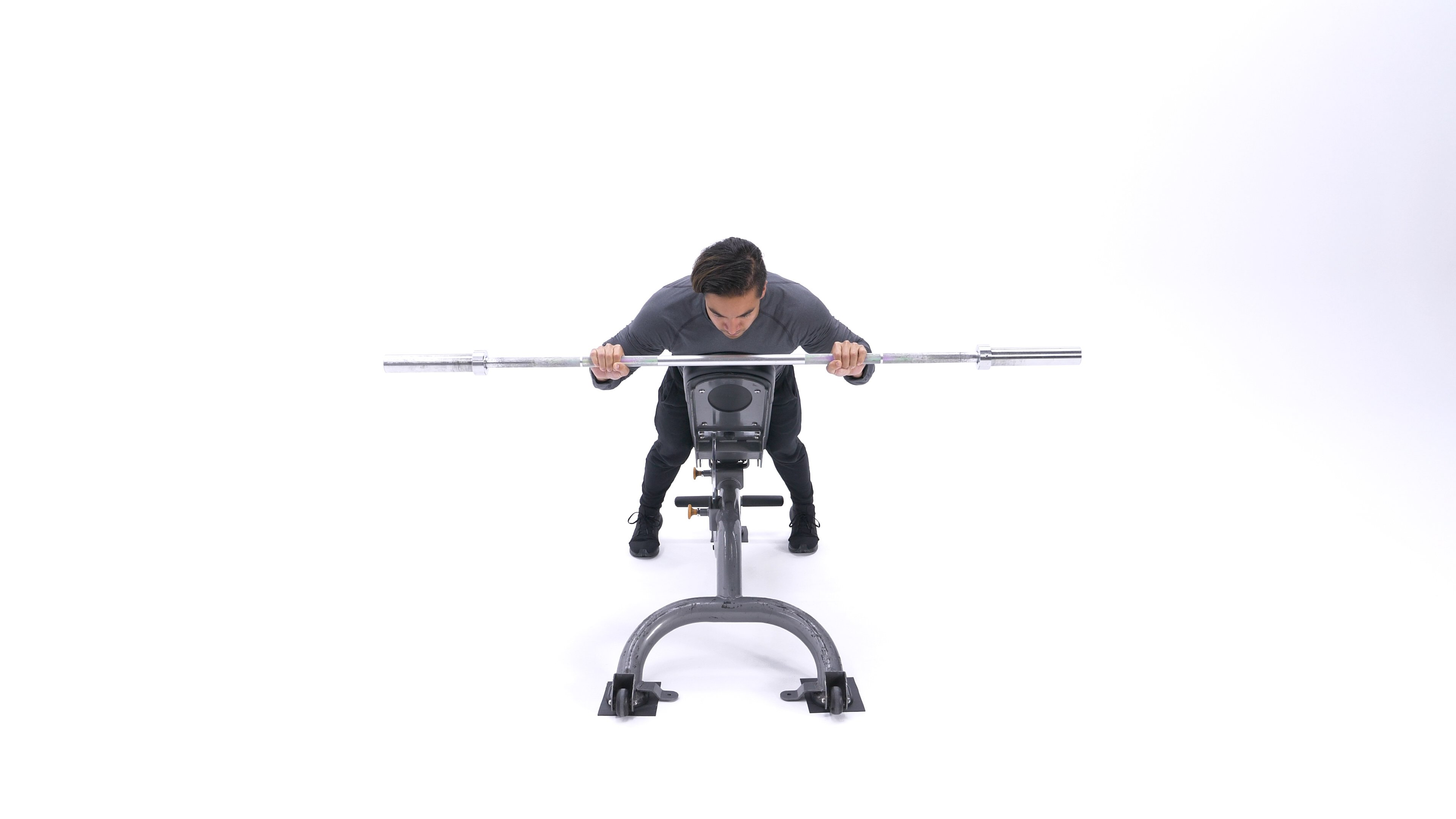 Incline anti-gravity shoulder press image