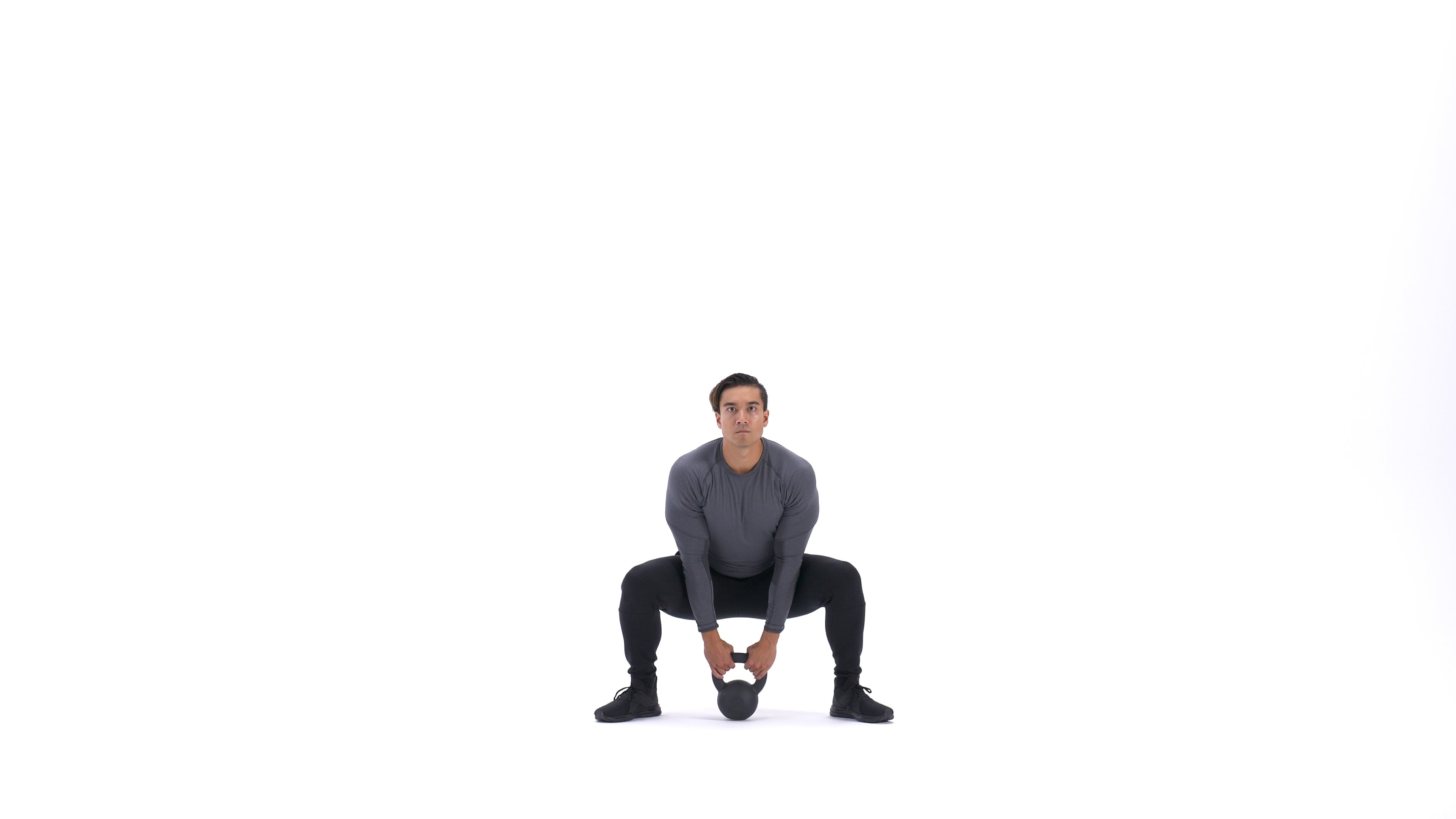 Kettlebell sumo squat image