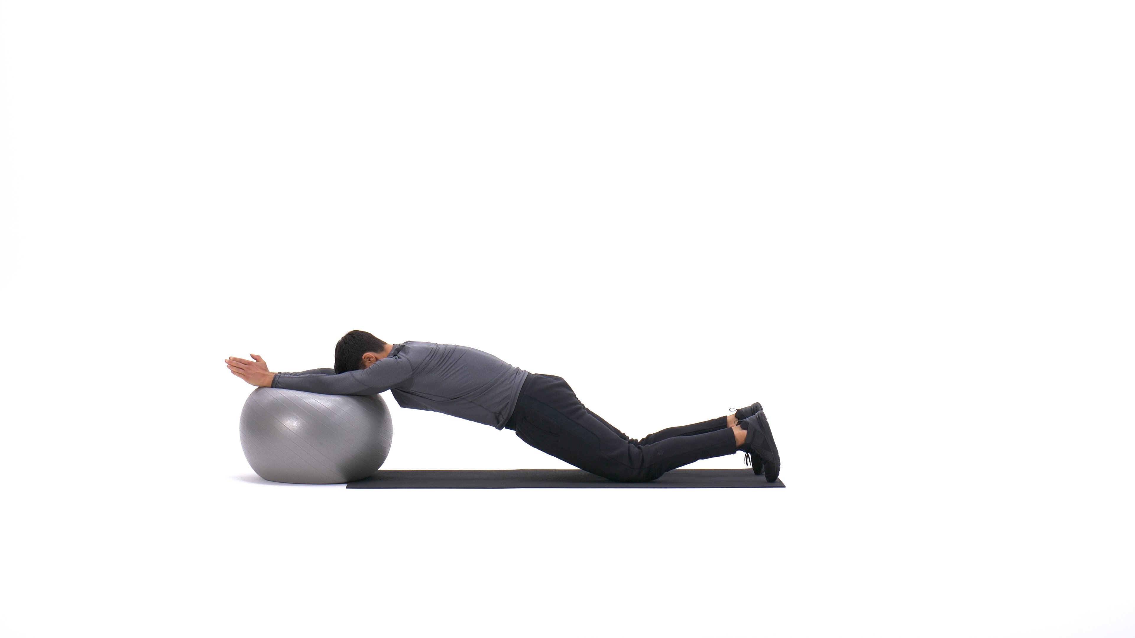 Swiss Ball Ab Roll-Out image