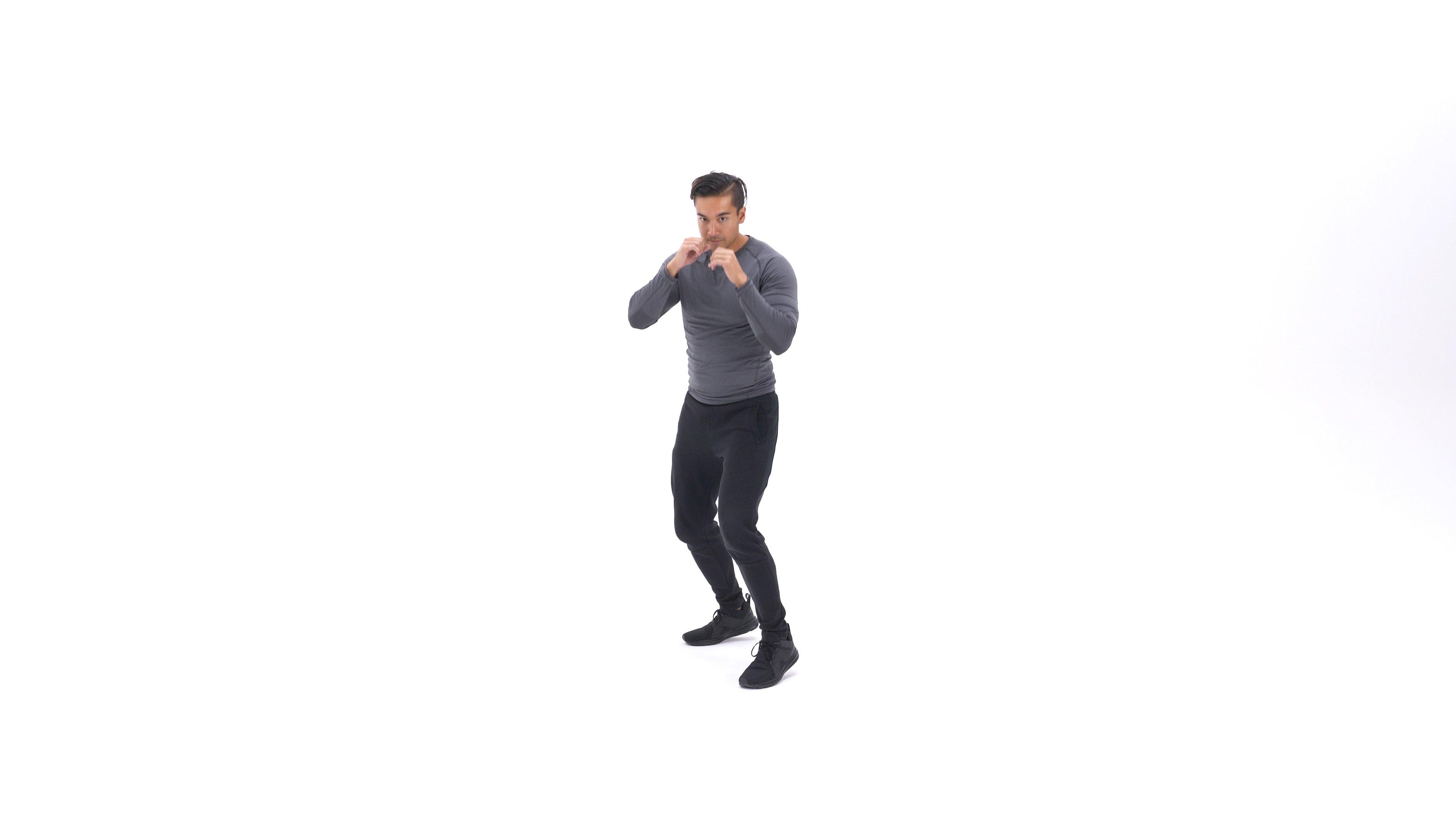 Shadow boxing image