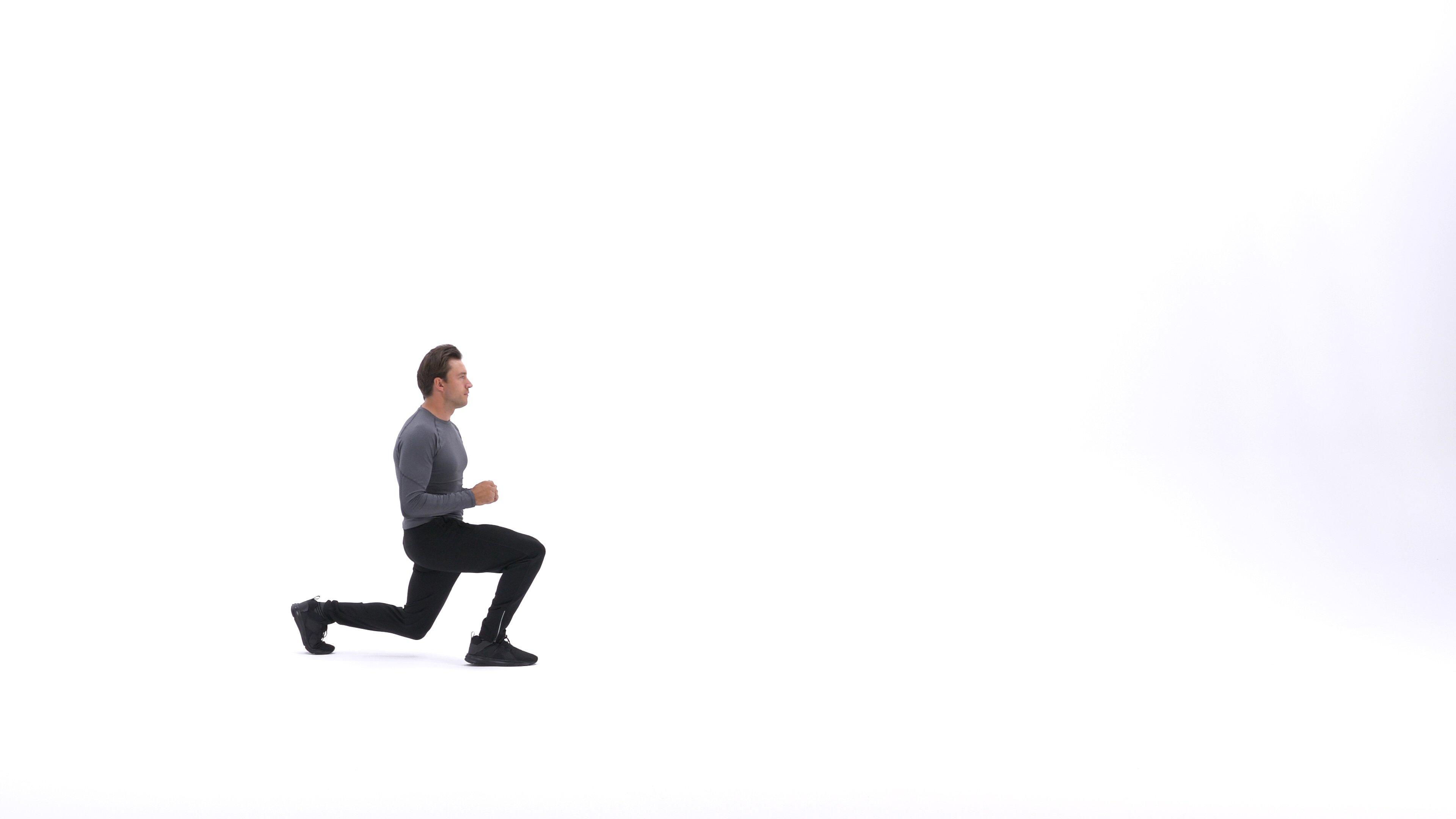 Walking lunge image