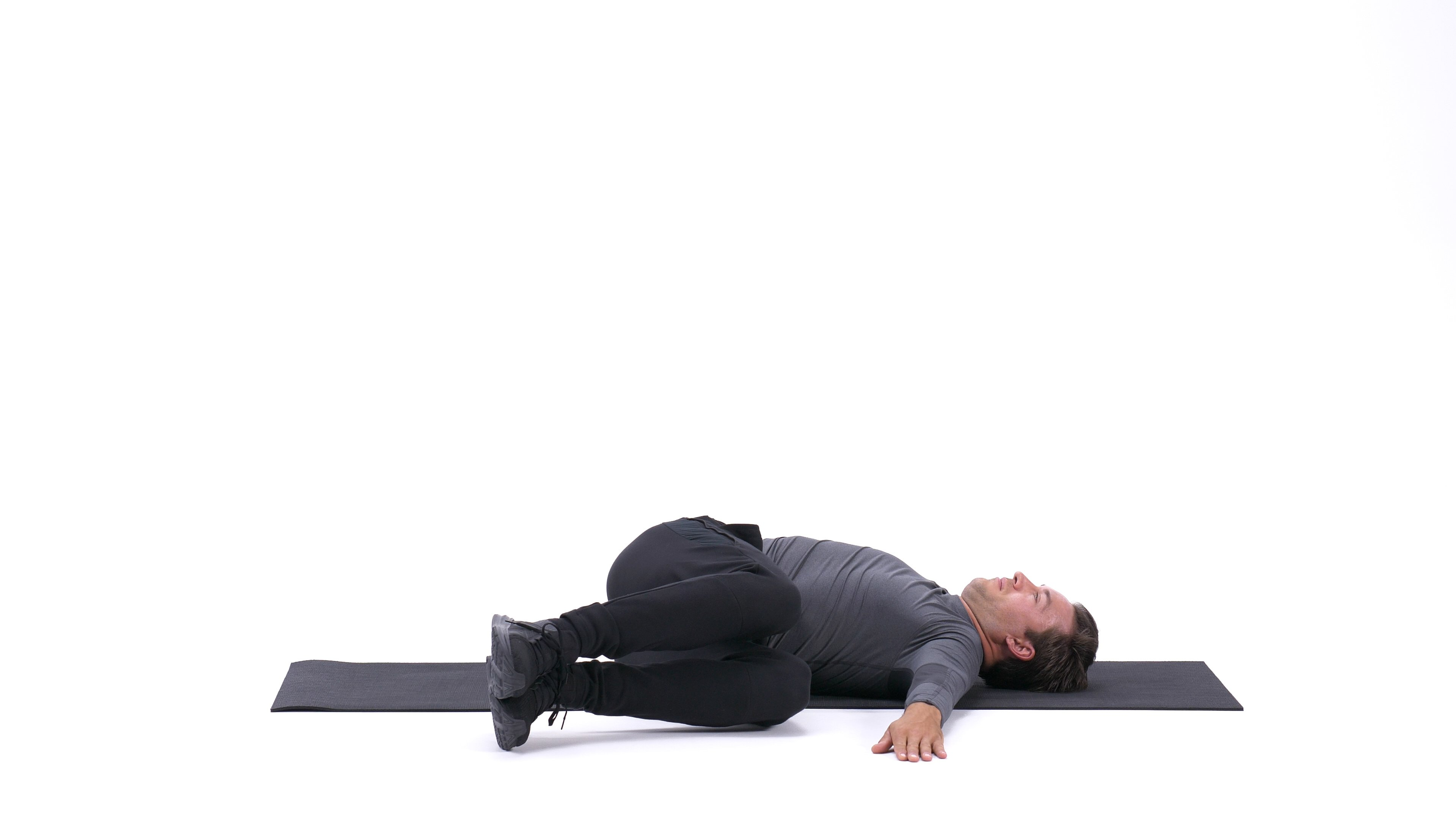 Lower Back Stretch - Yates Variation image