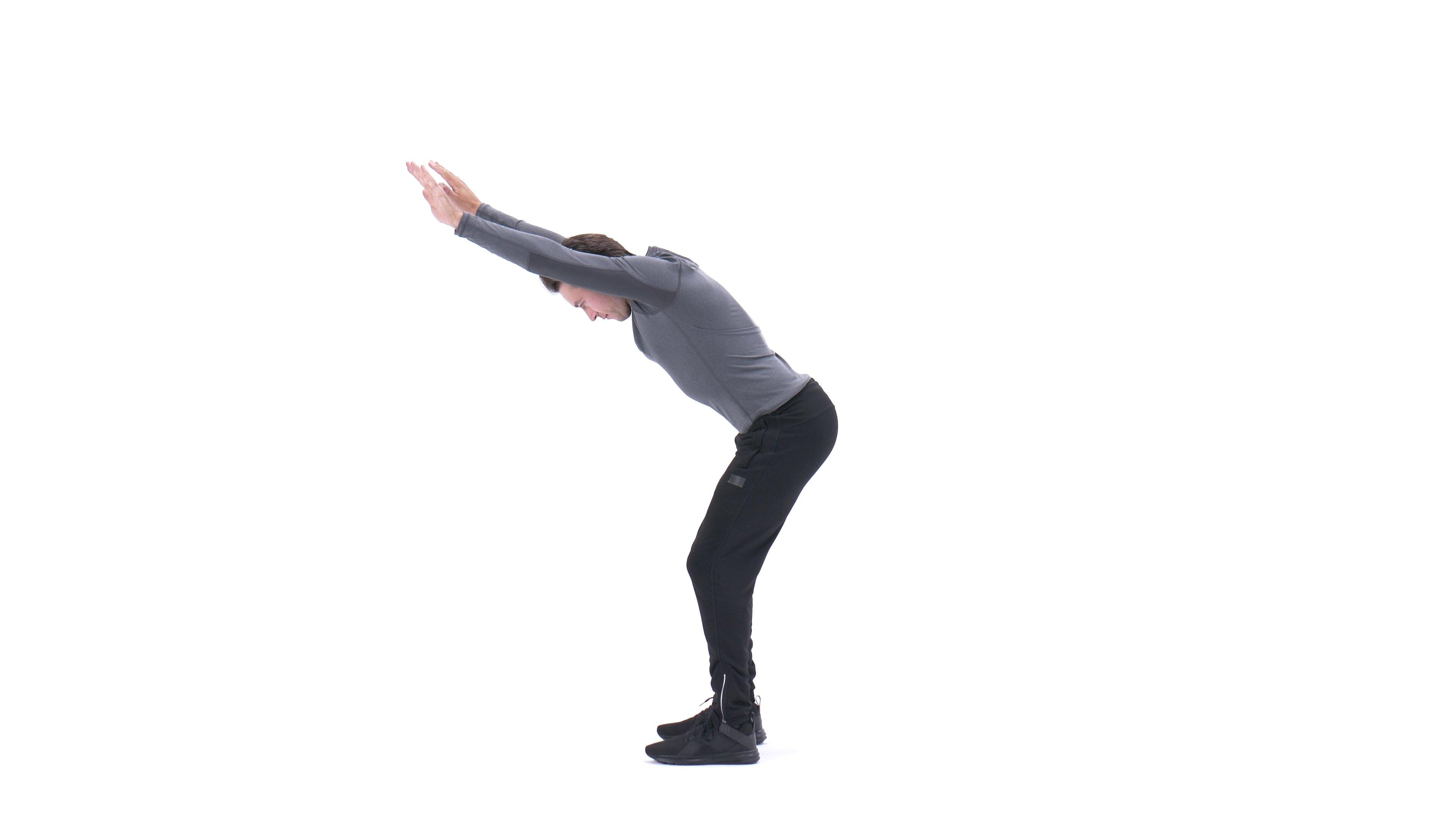 Bent-over scapular slide image