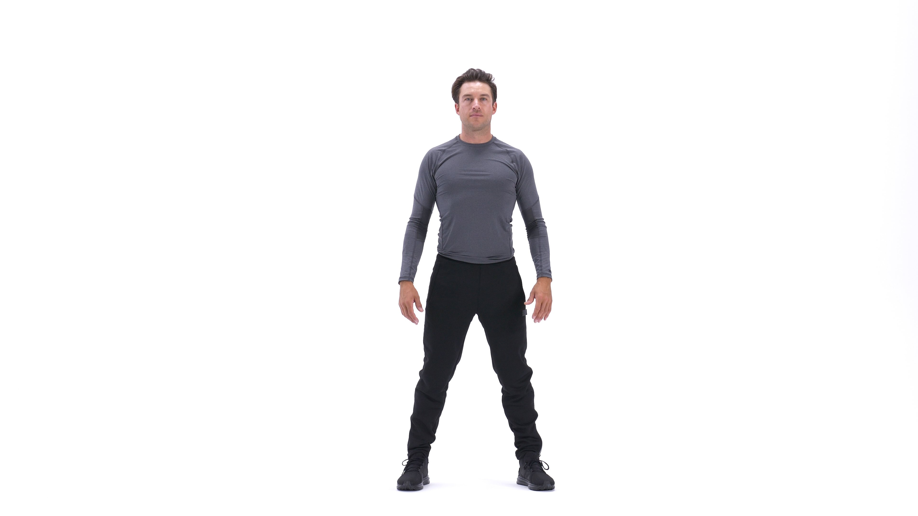 Bodyweight squat image