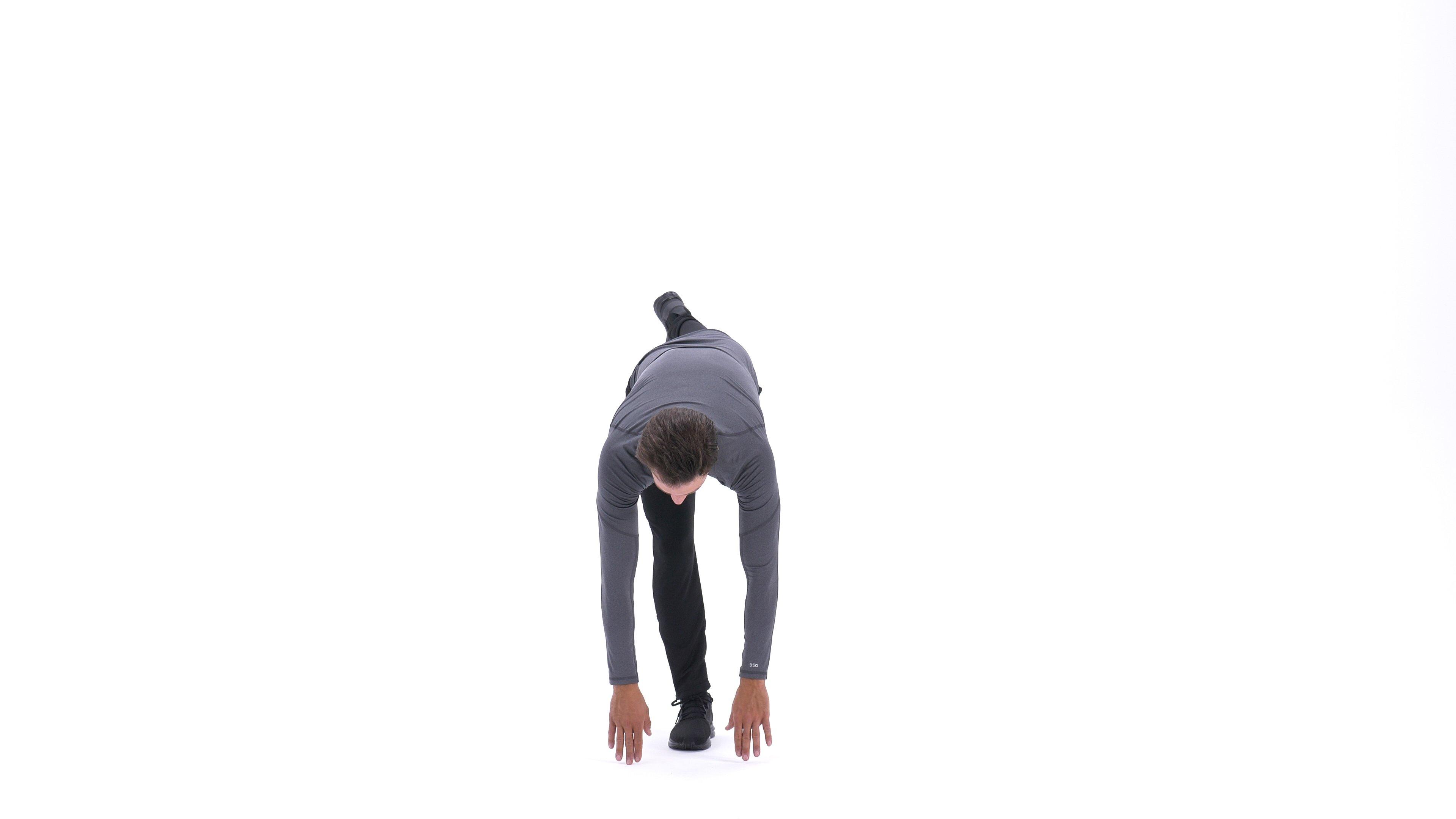 Single-leg balance and reach image