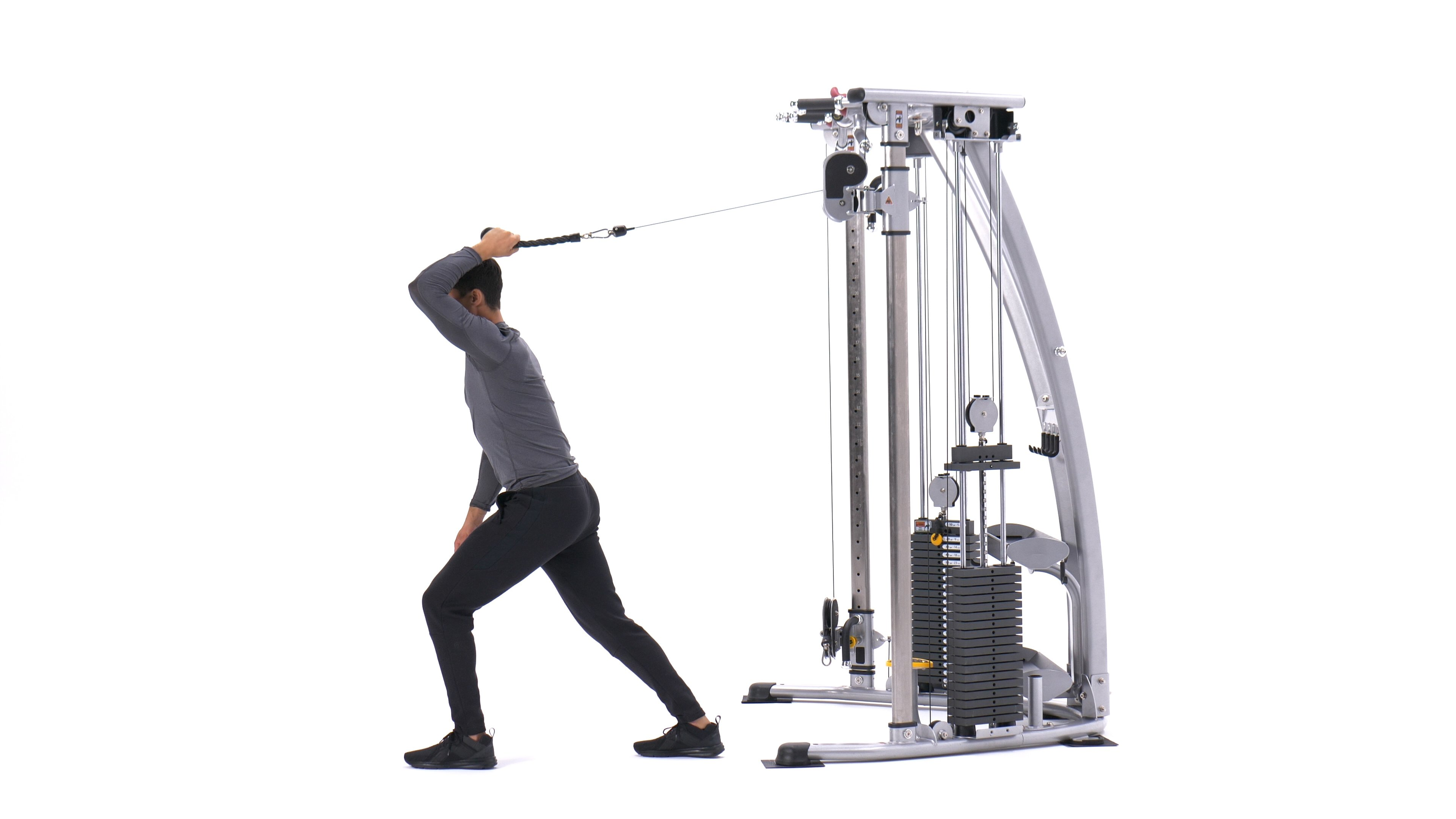Single-arm cable triceps extension image