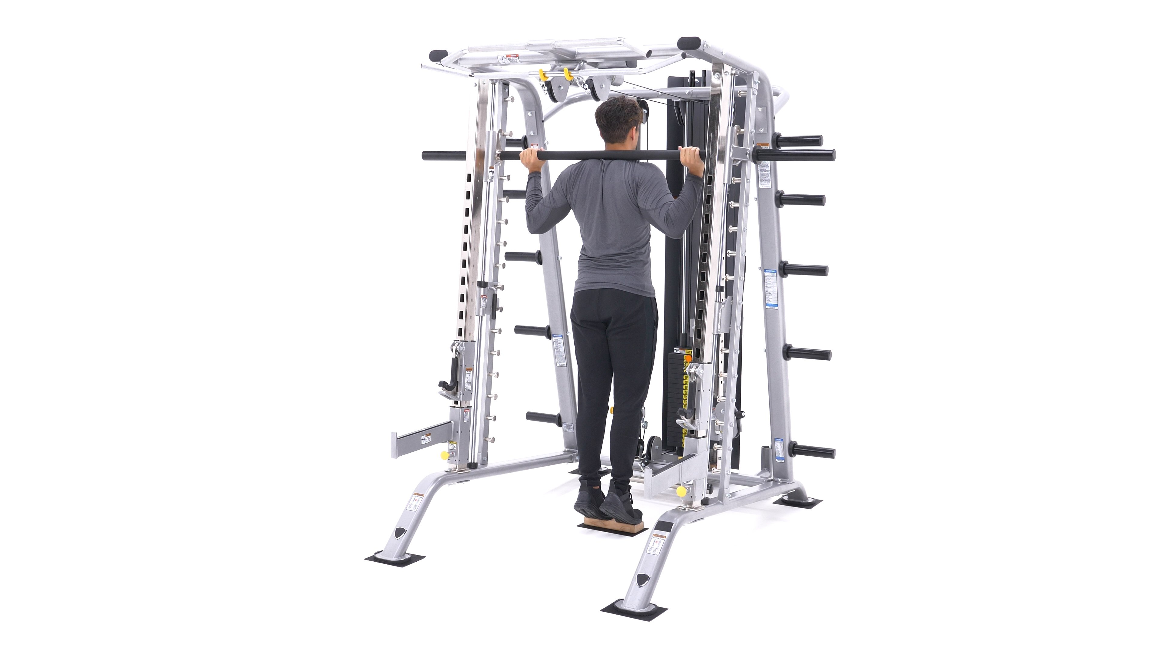 Smith Machine Calf Raise image