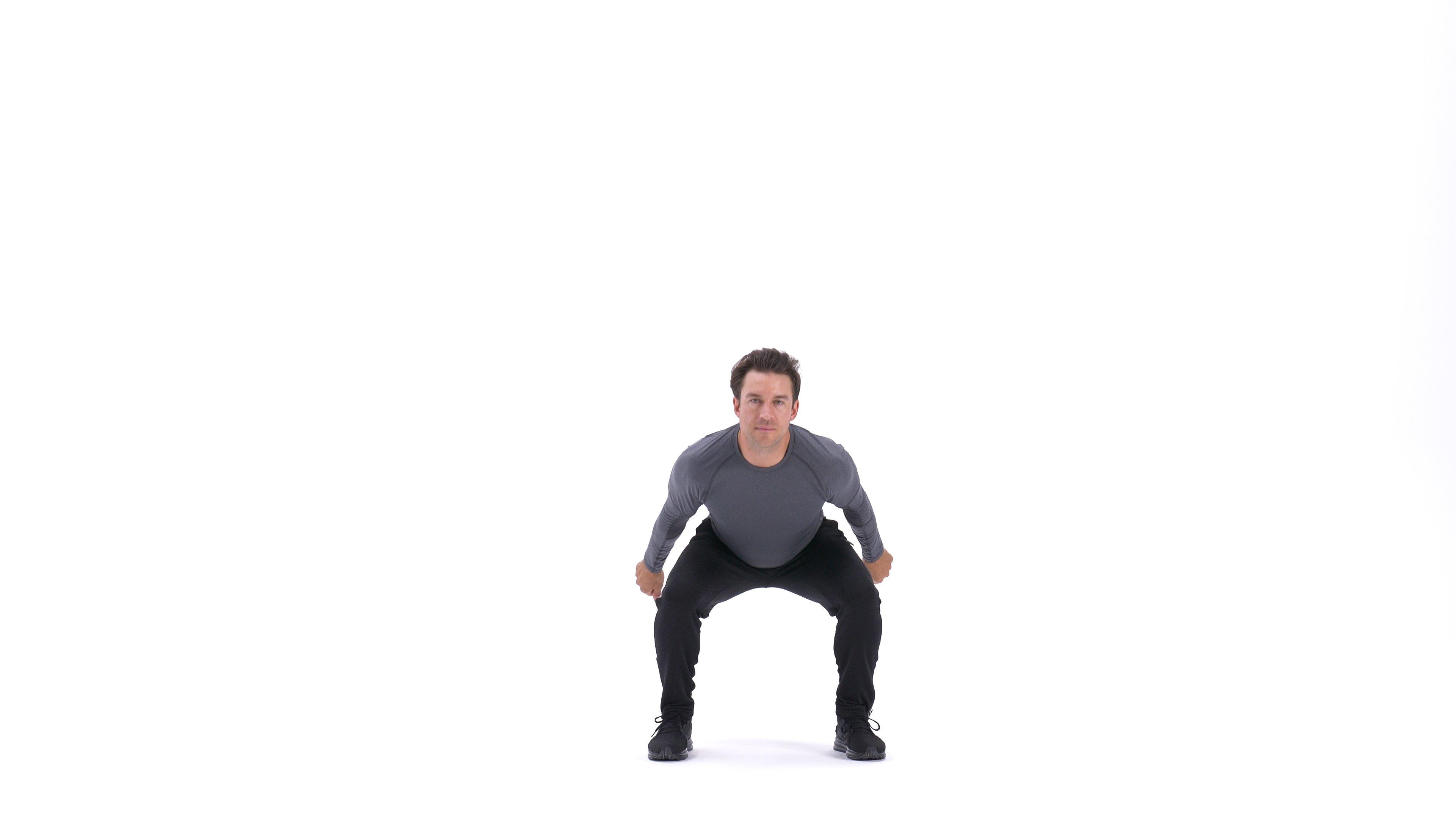 90-degree jump squat image